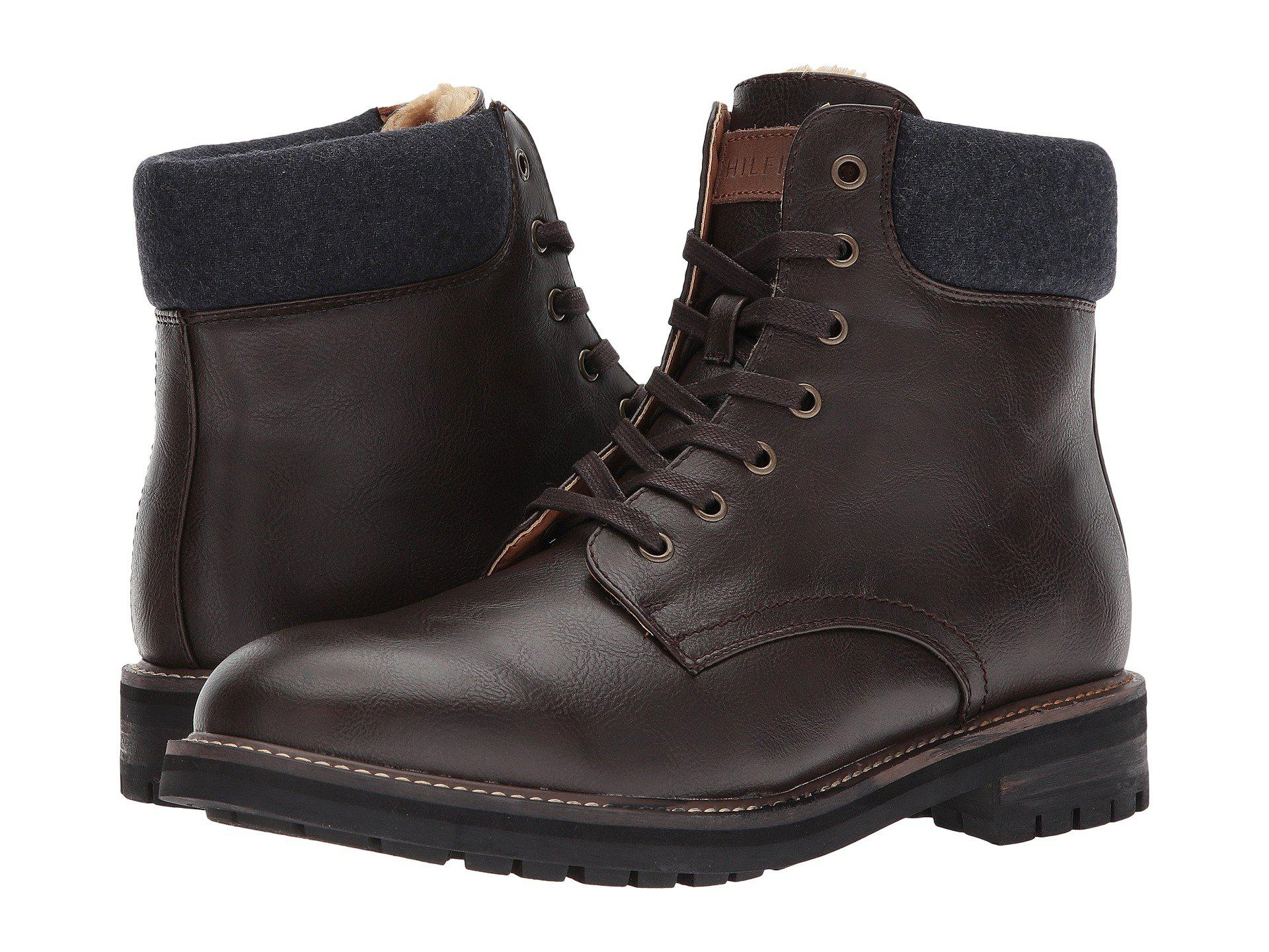 Price Reduced Mens Boots - Tommy Hilfiger Hollins Brown