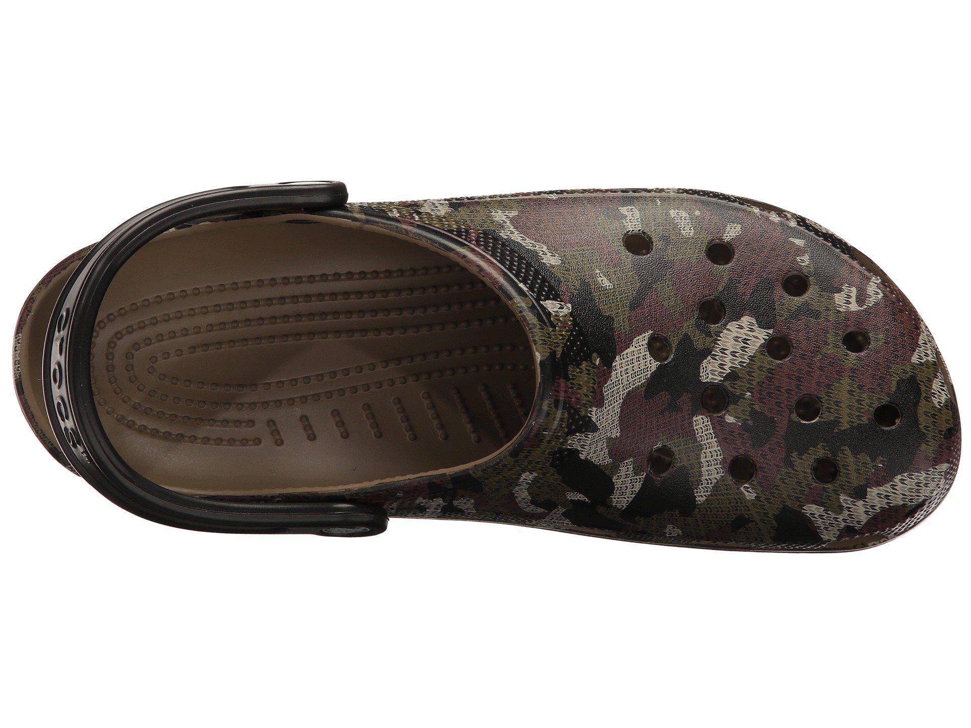 e8e0a8018 Crocs™ - Multicolor Classic Camo Clog - Lyst. View fullscreen