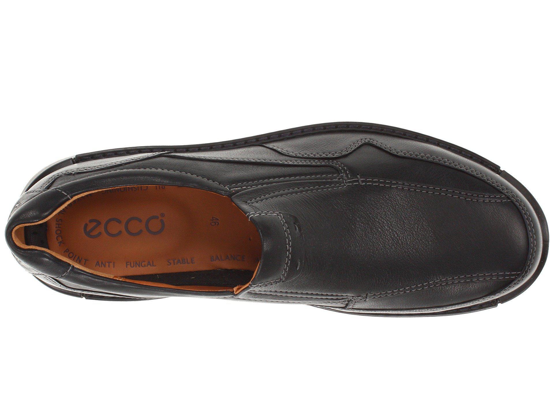 d60208d88204 Ecco - Black Fusion Casual Slip On for Men - Lyst. View fullscreen