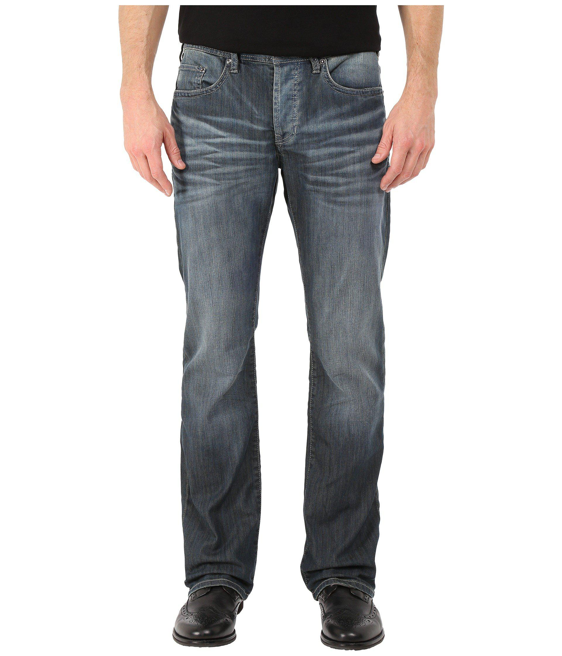 842d0fe2d76 Buffalo David Bitton King Slim Bootcut Jeans Ventura In Distress ...