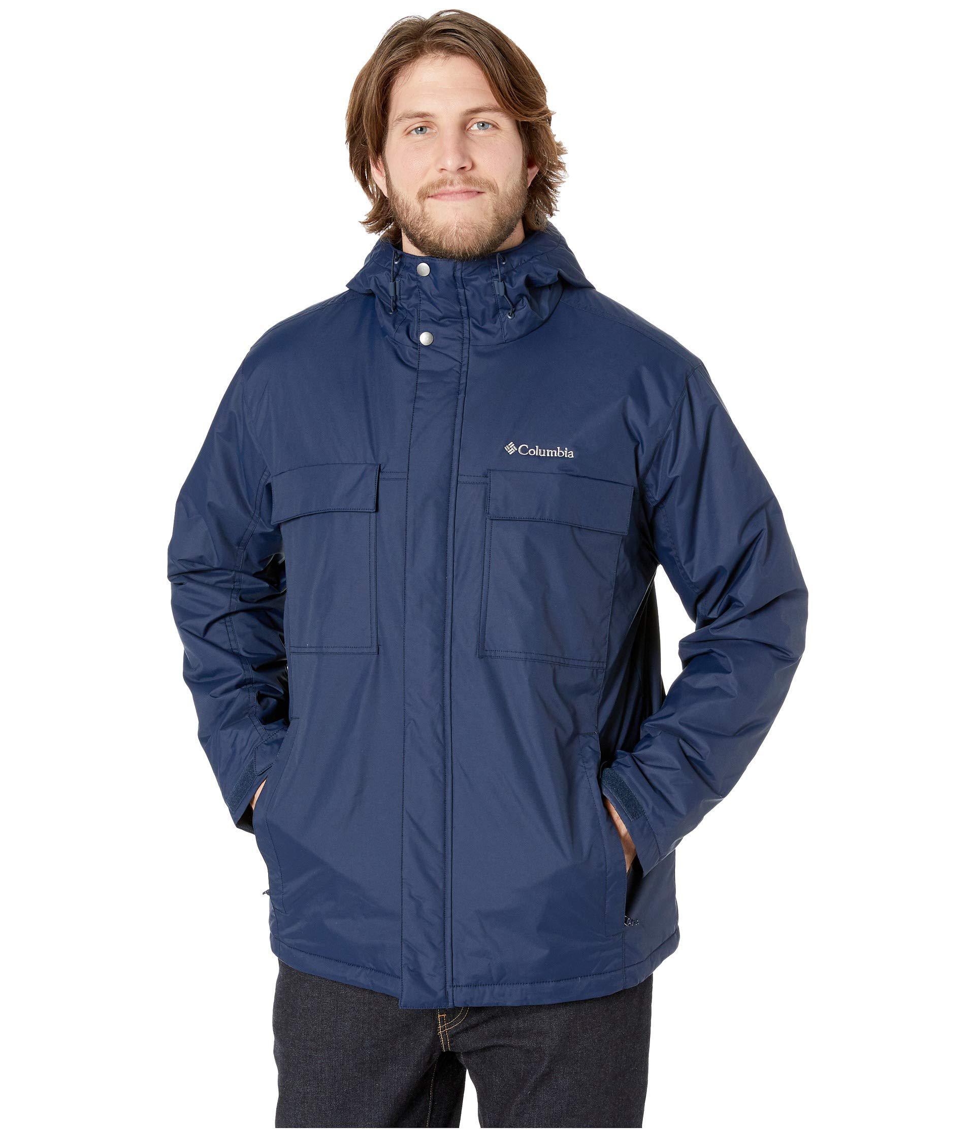 0bc297555 Columbia Big & Tall Ten Fallstm Jacket in Blue for Men - Lyst