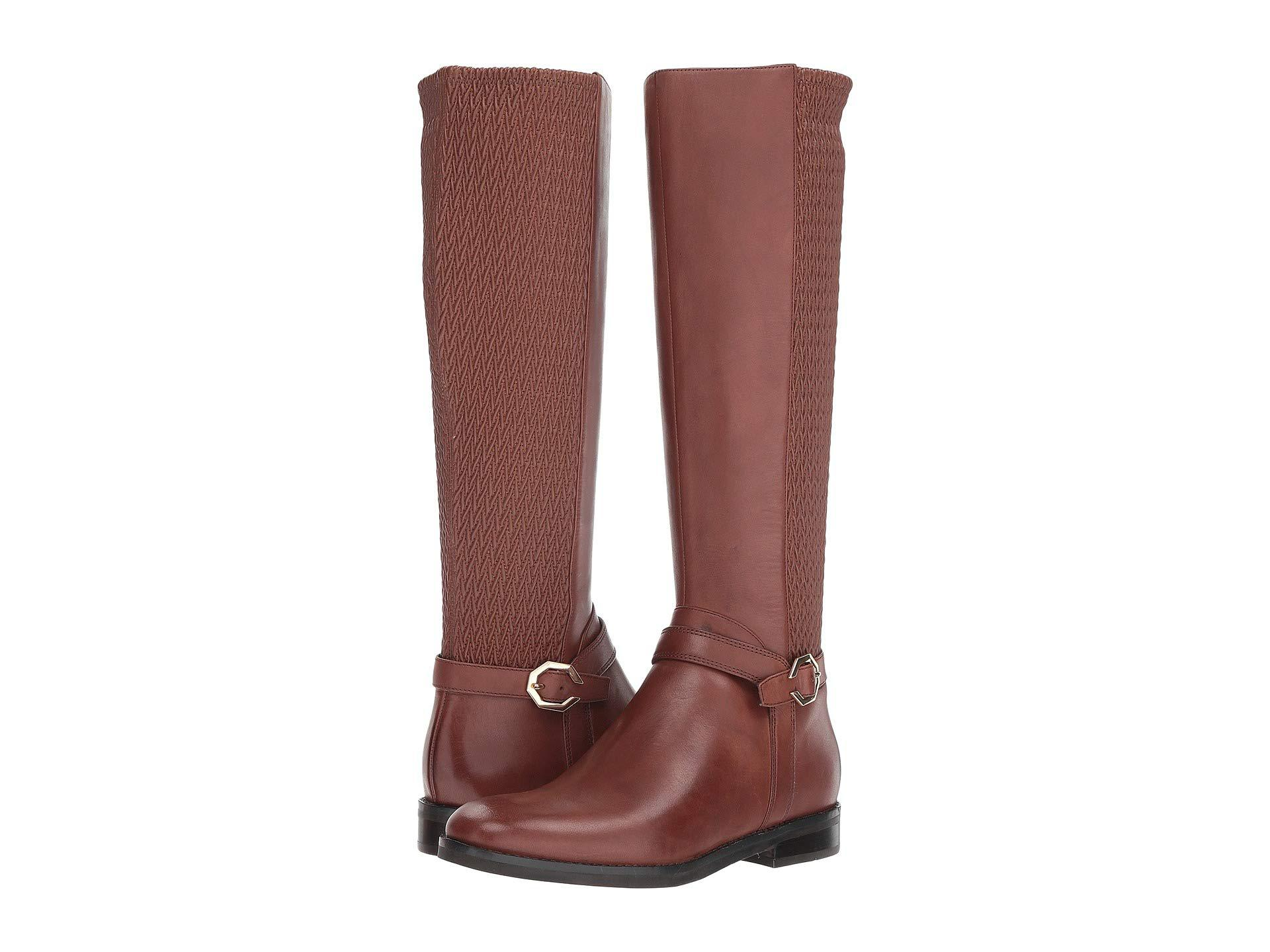 a94c1ad7308 Lyst - Cole Haan Leela Grand Os Knee-high Riding Boots in Brown