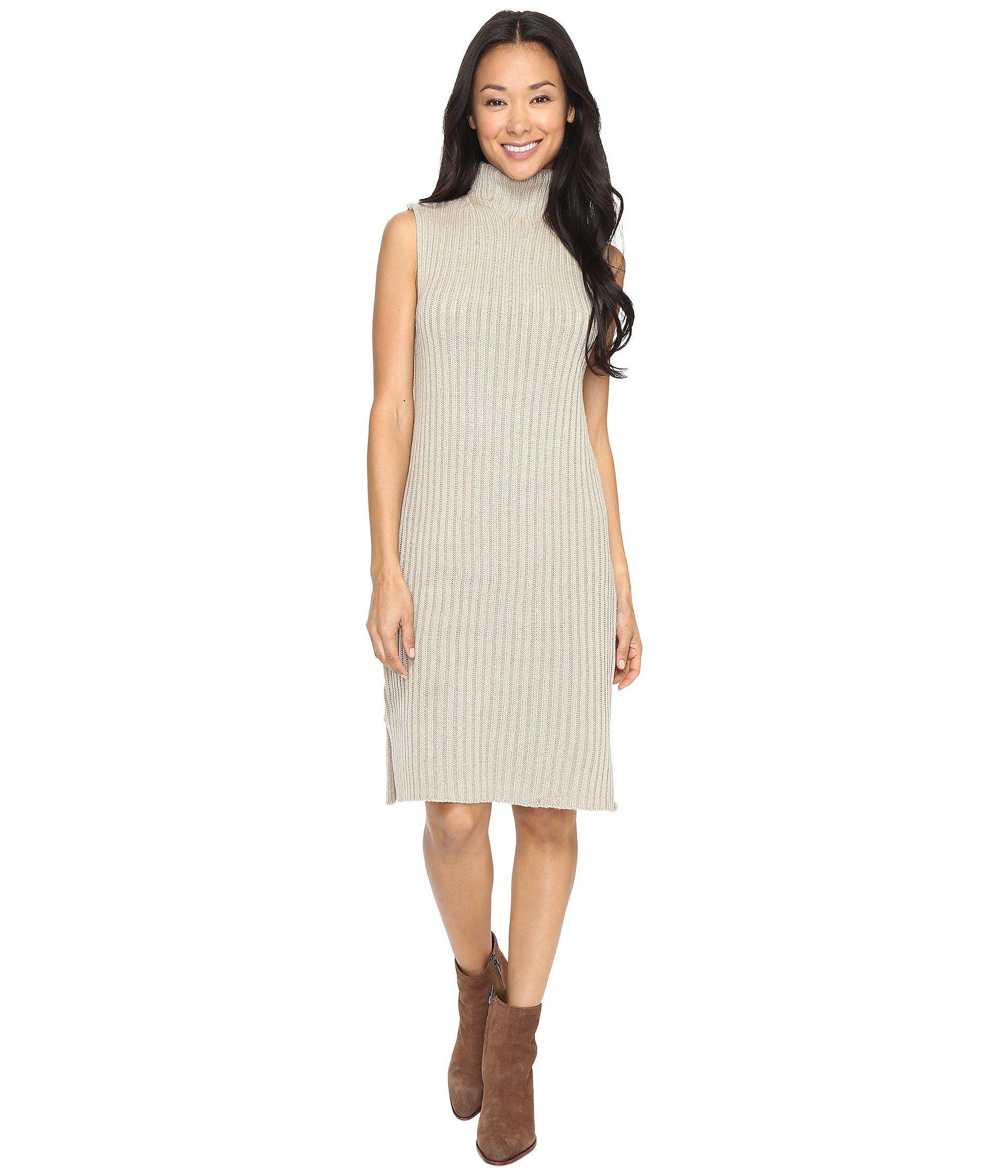 e3215d68382f4 Lyst - Brigitte Bailey Eade Sleeveless Turtleneck Sweater Dress in ...