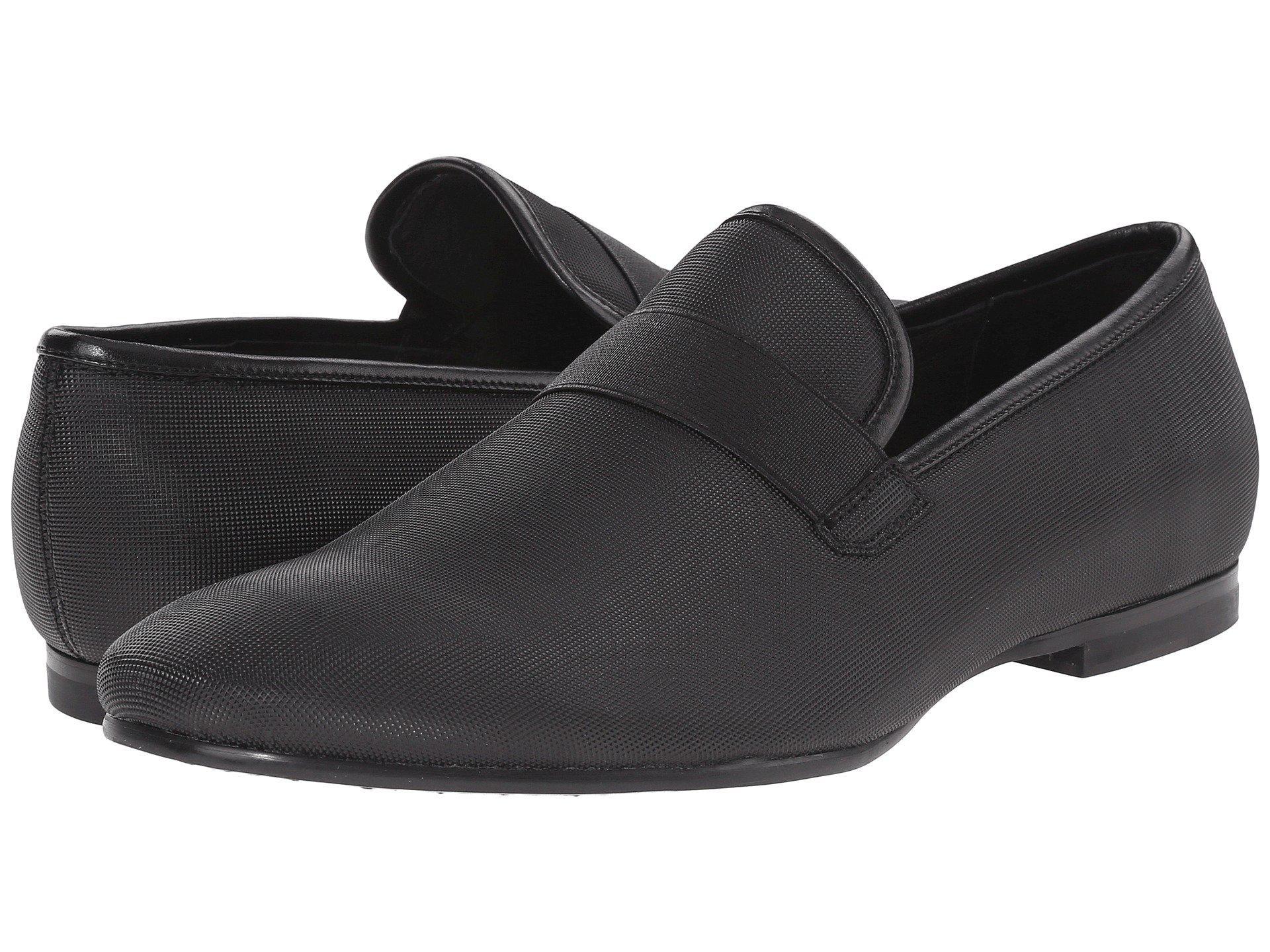 Mens Shoes Calvin Klein Nicco Black Smooth