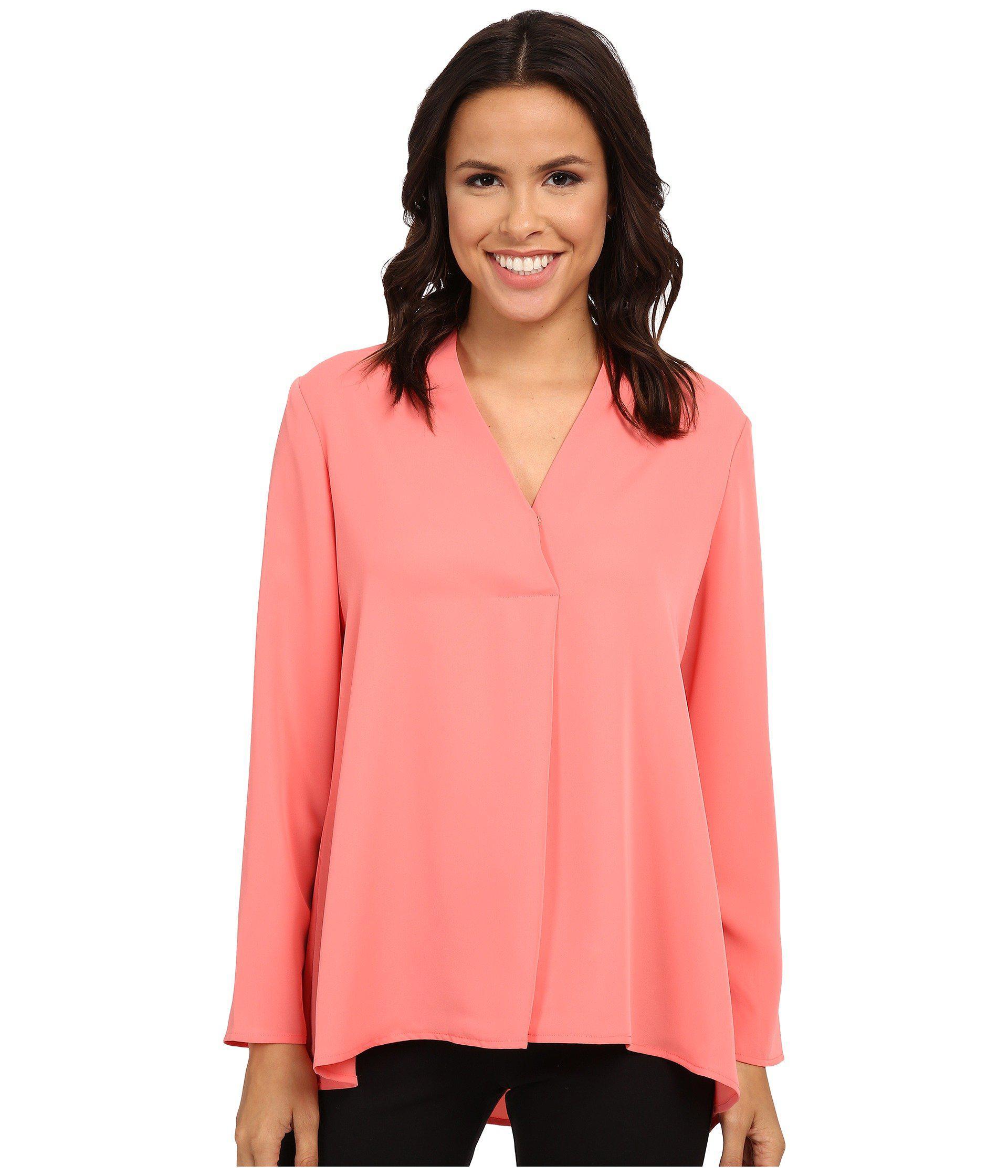 27f2c80efc1 Lyst - NIC+ZOE Majestic Matte Shirt in Pink - Save 75%