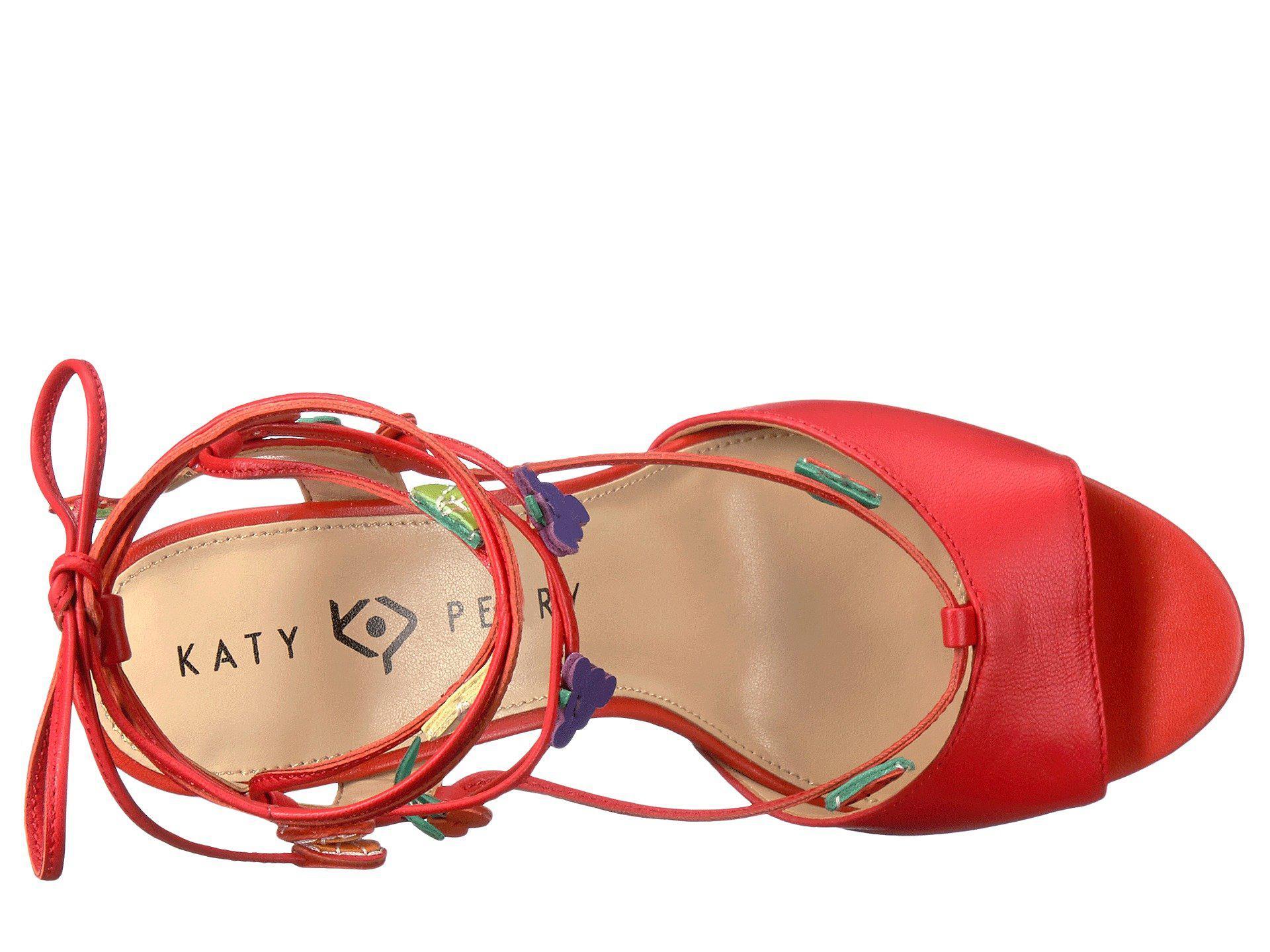 ae352eb6e5b7 Katy Perry - Red The Carmen - Lyst. View fullscreen