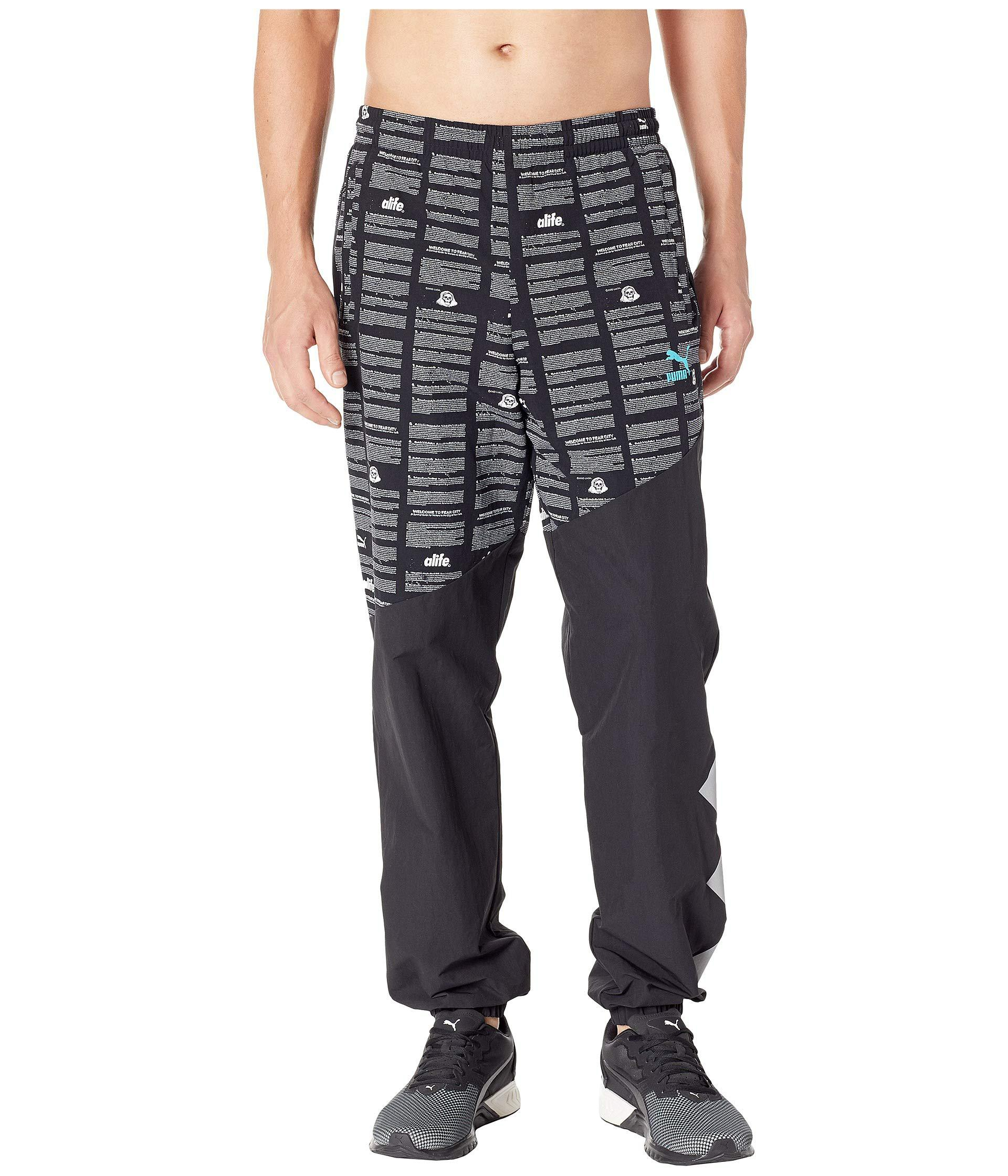e58a2797c2b8 Lyst - PUMA Alife Pants Savannah in Black for Men