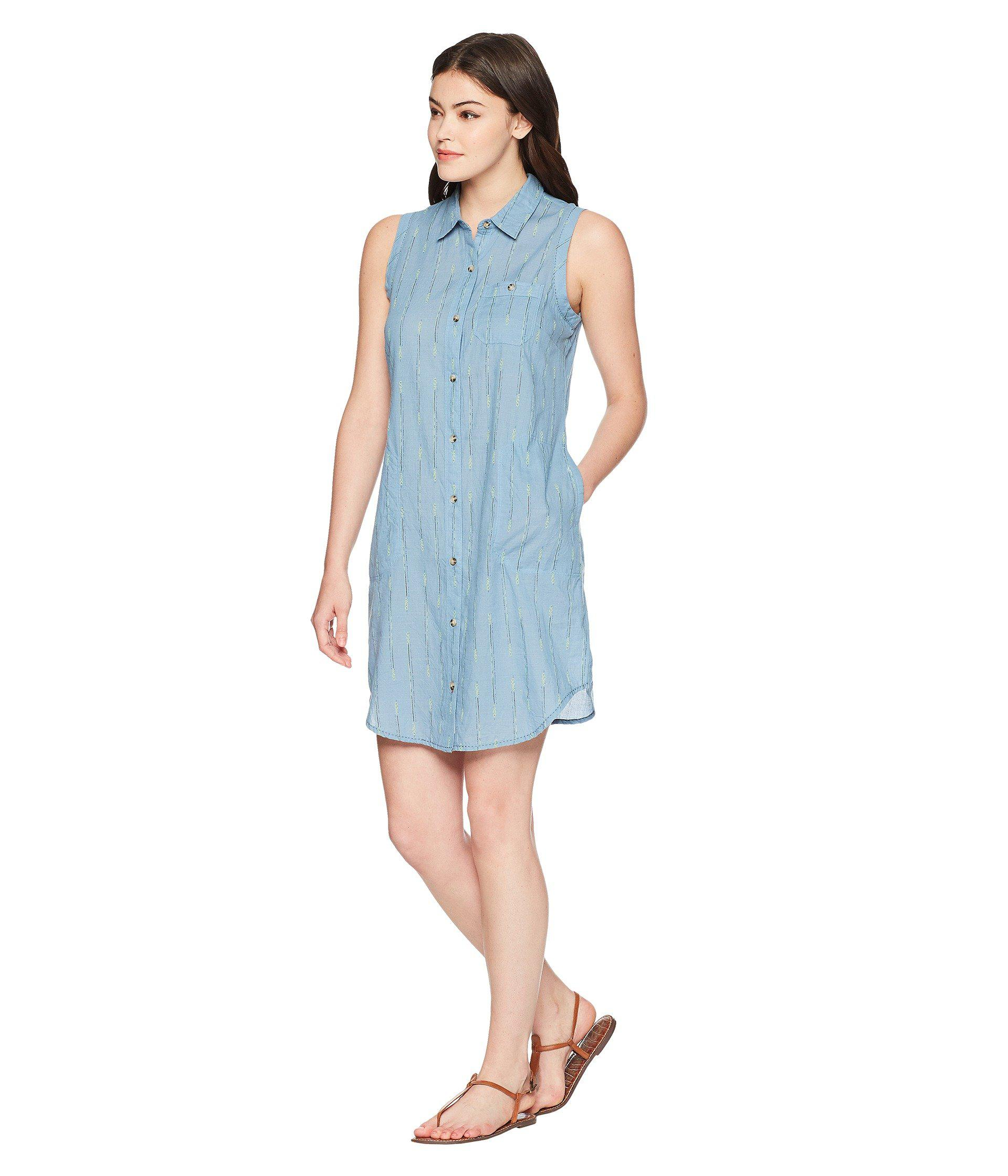 e78c3b46749 Toad&Co Indigo Ridge Sleeveless Dress in Blue - Lyst