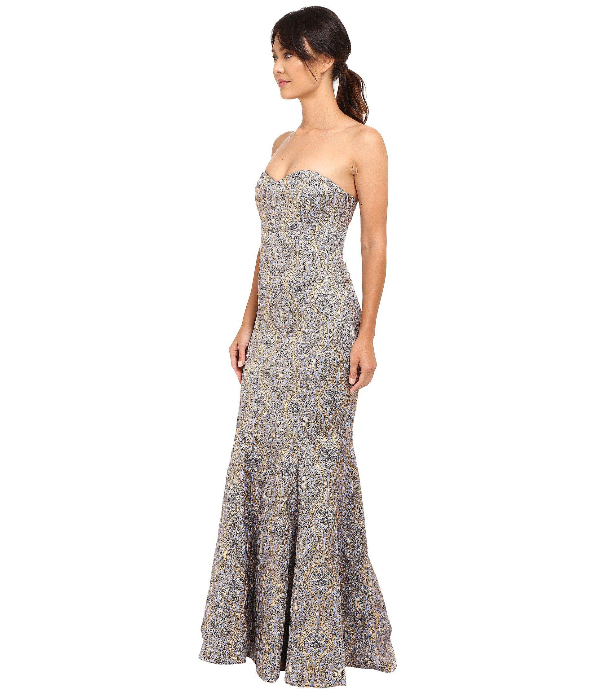 Fancy Nicole Miller Dakota Gown Motif - Wedding and flowers ...