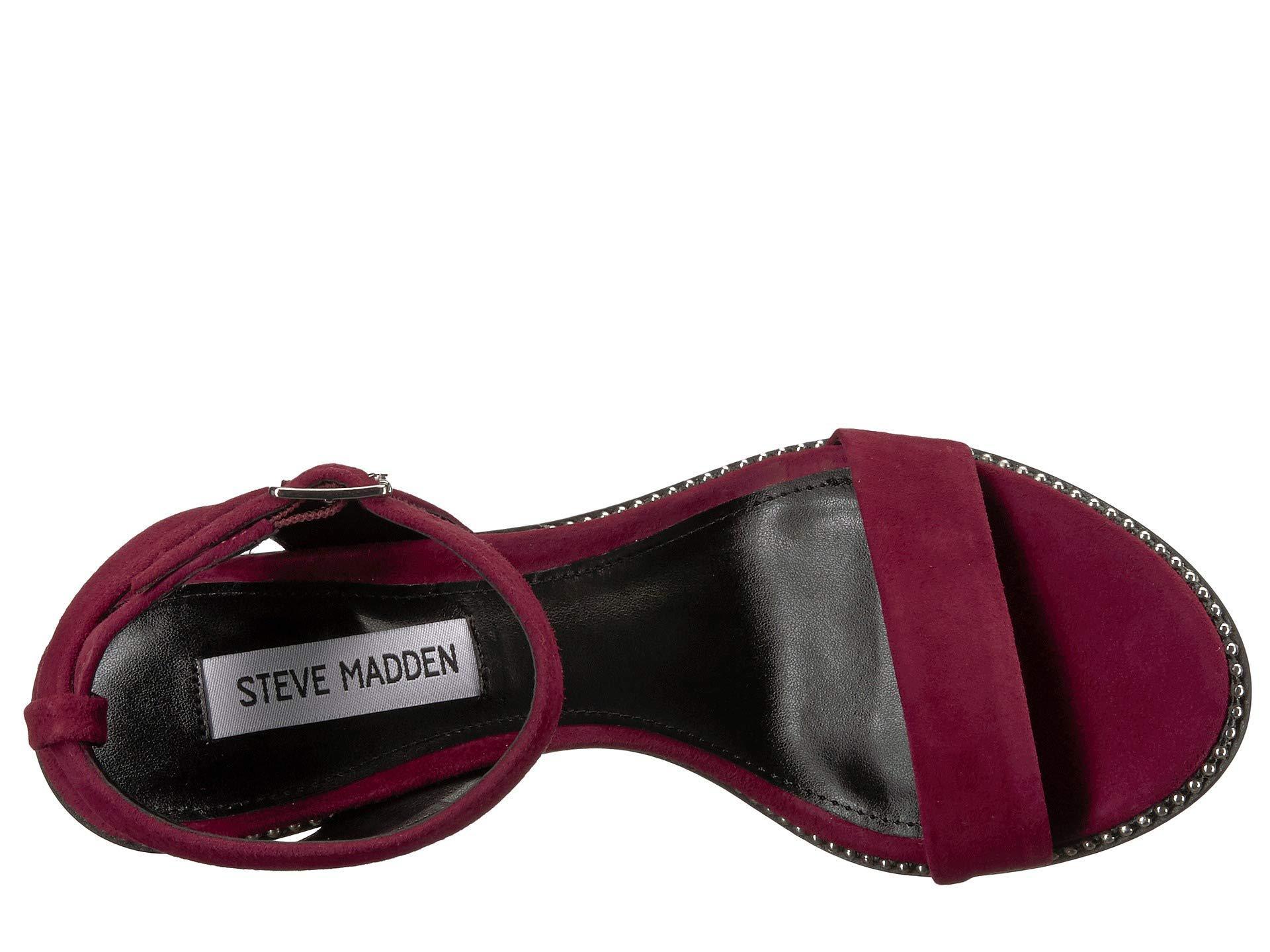 c8d1e4f890b5 Steve Madden - Multicolor Sylvie Heeled Sandal - Lyst. View fullscreen