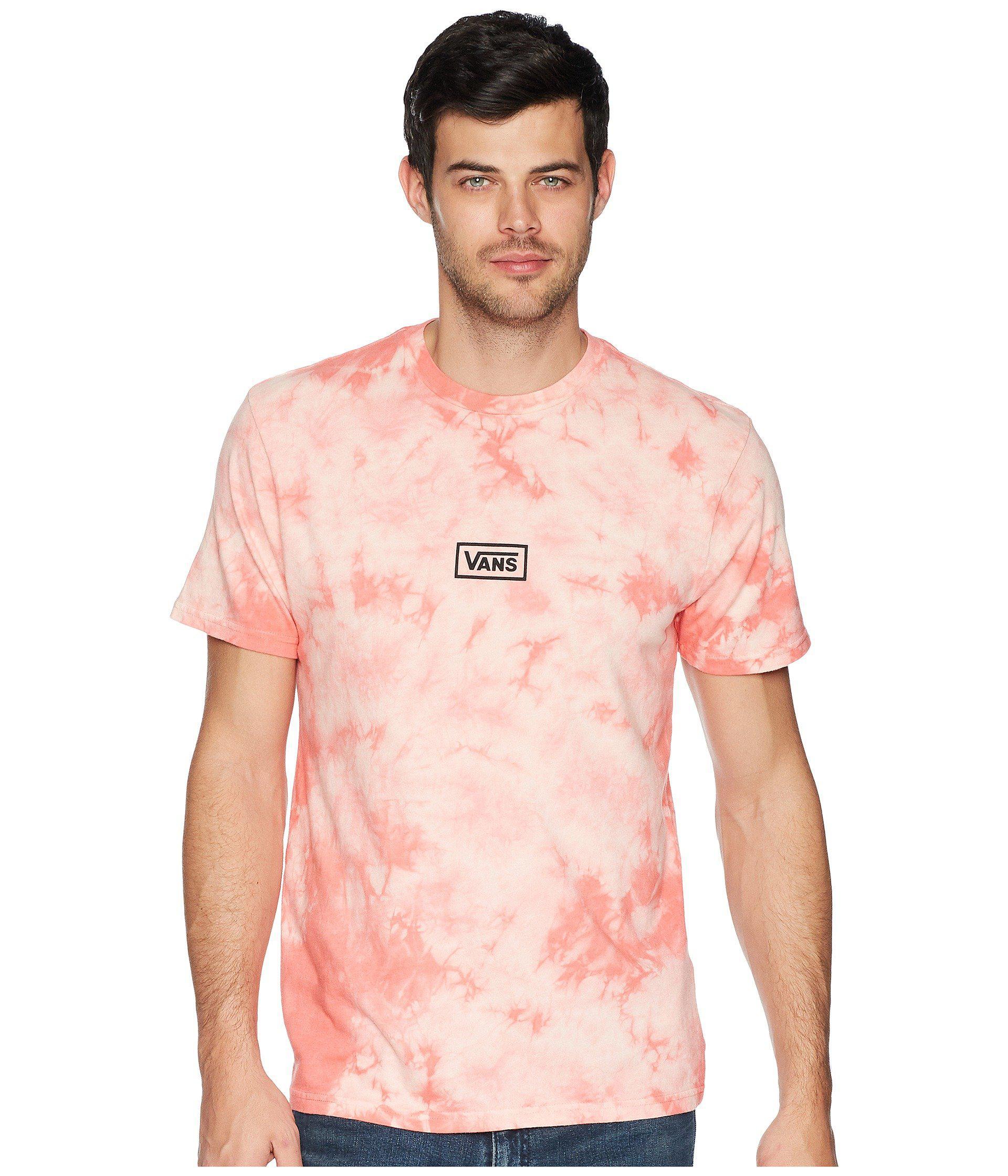 8796ad9b015 Vans - Pink Bleached Out T-shirt for Men - Lyst. View fullscreen