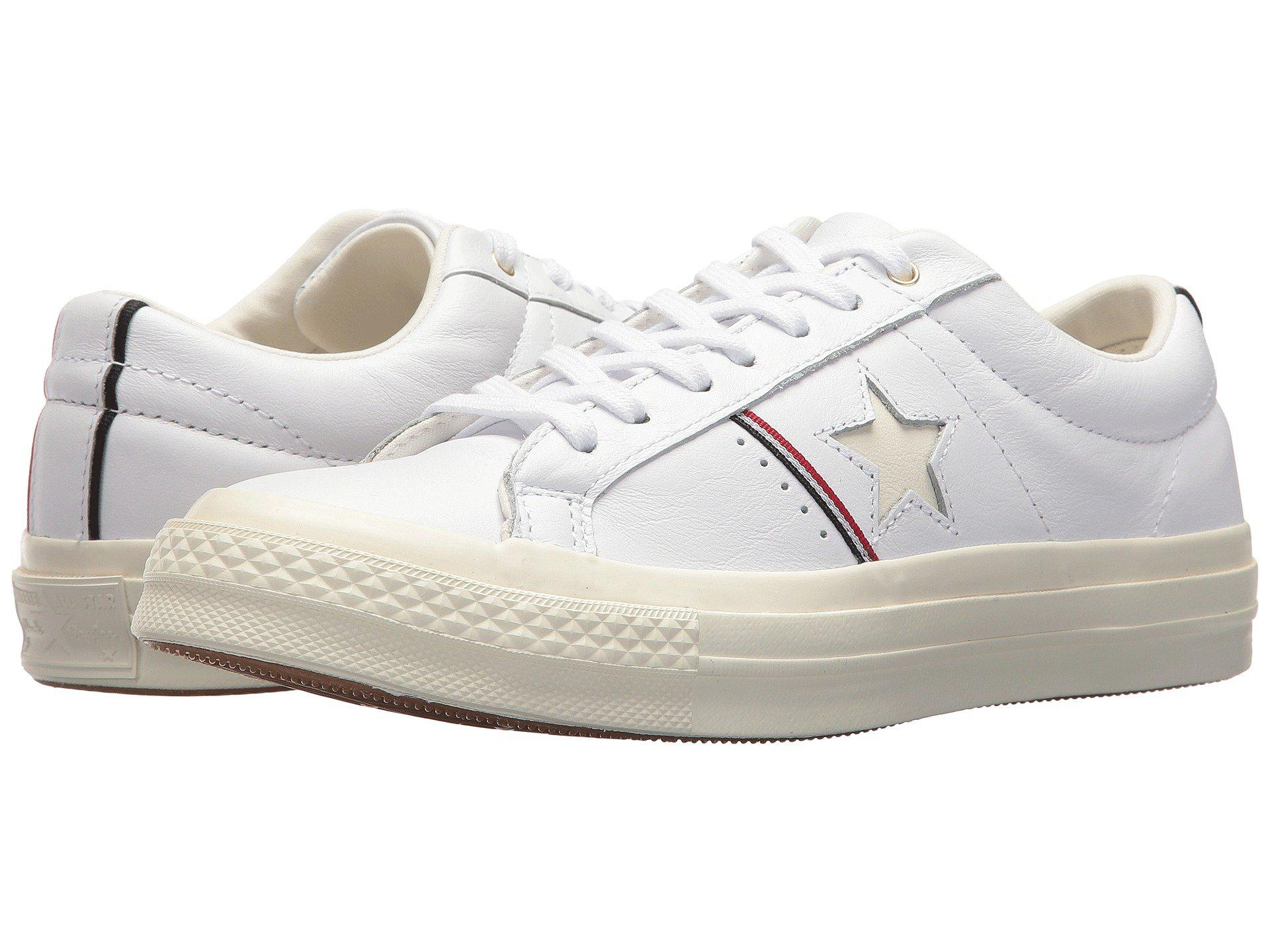 e0ffe3871a8 Lyst - Converse One Star® Piping Pack Ox in White