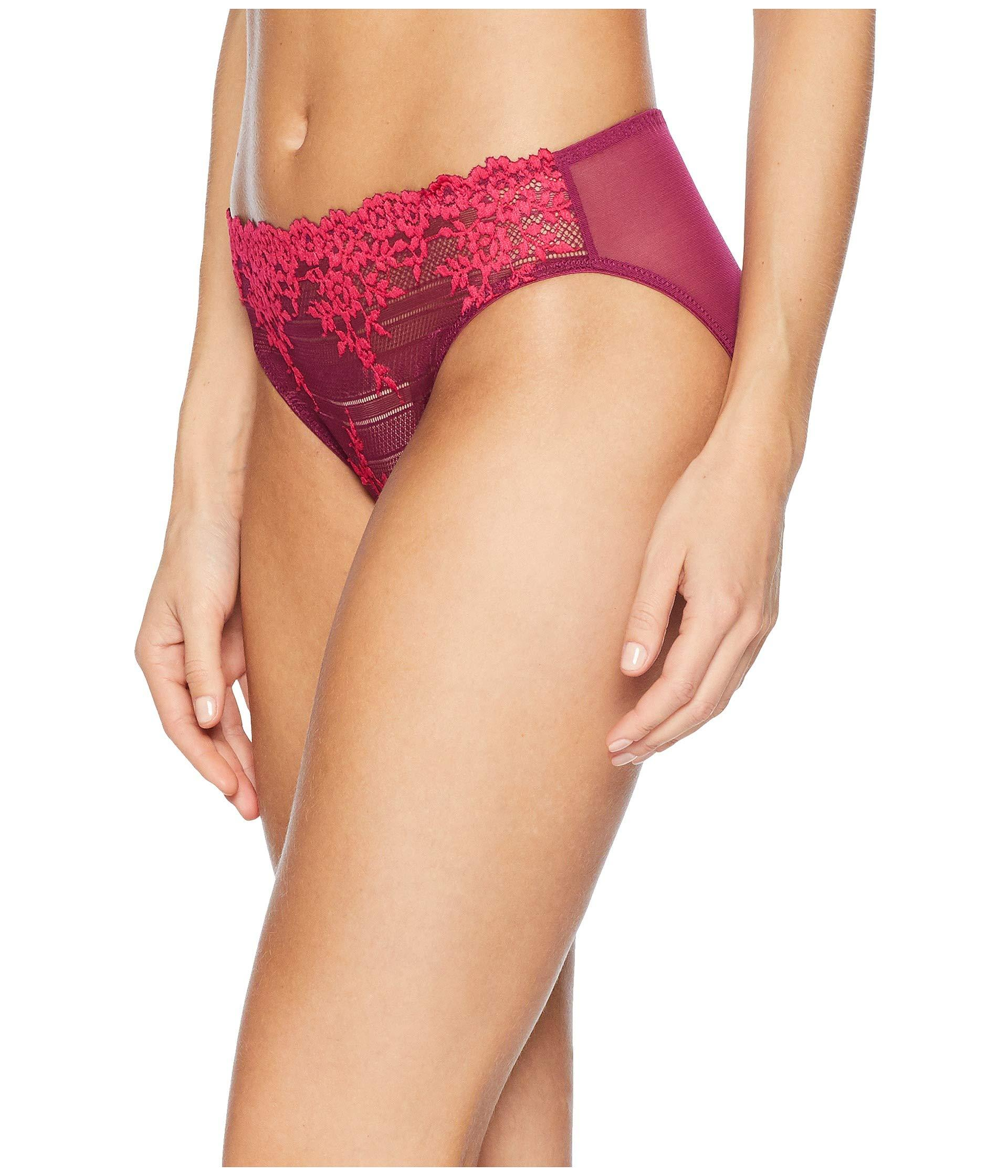 243686f5d9583 Lyst - Wacoal Embrace Lace Bikini