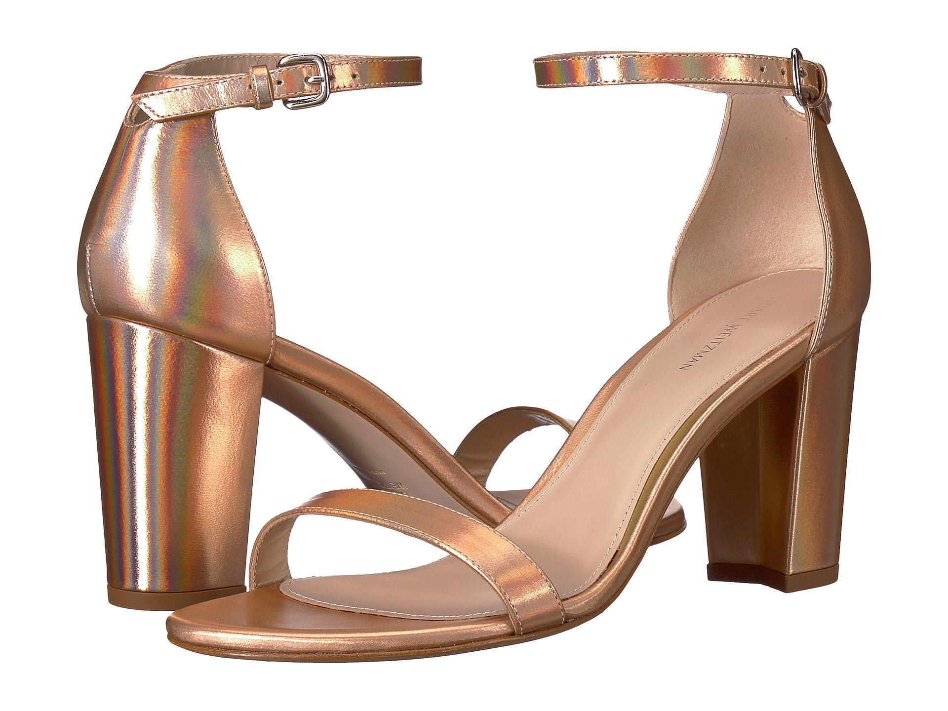 ecbbe44f892 Lyst - Stuart Weitzman Nearlynude in Natural