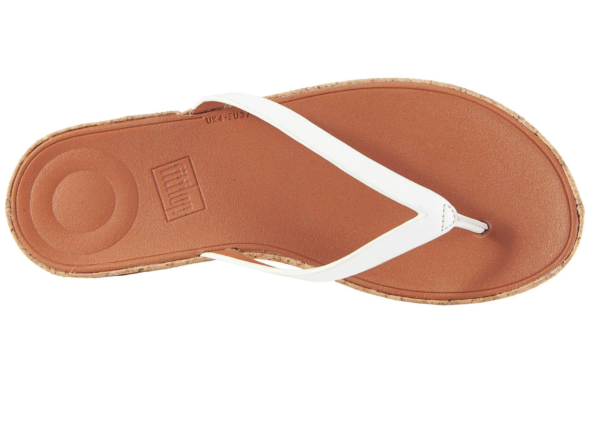 93cbe9644 Fitflop - Multicolor Linny Toe Thong Sandals - Lyst. View fullscreen
