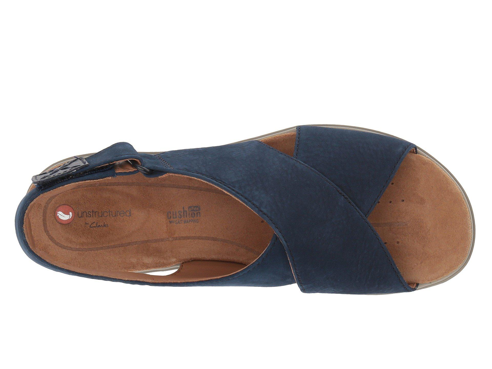 c9abe410293 Clarks - Blue Un Karely Hail - Lyst. View fullscreen