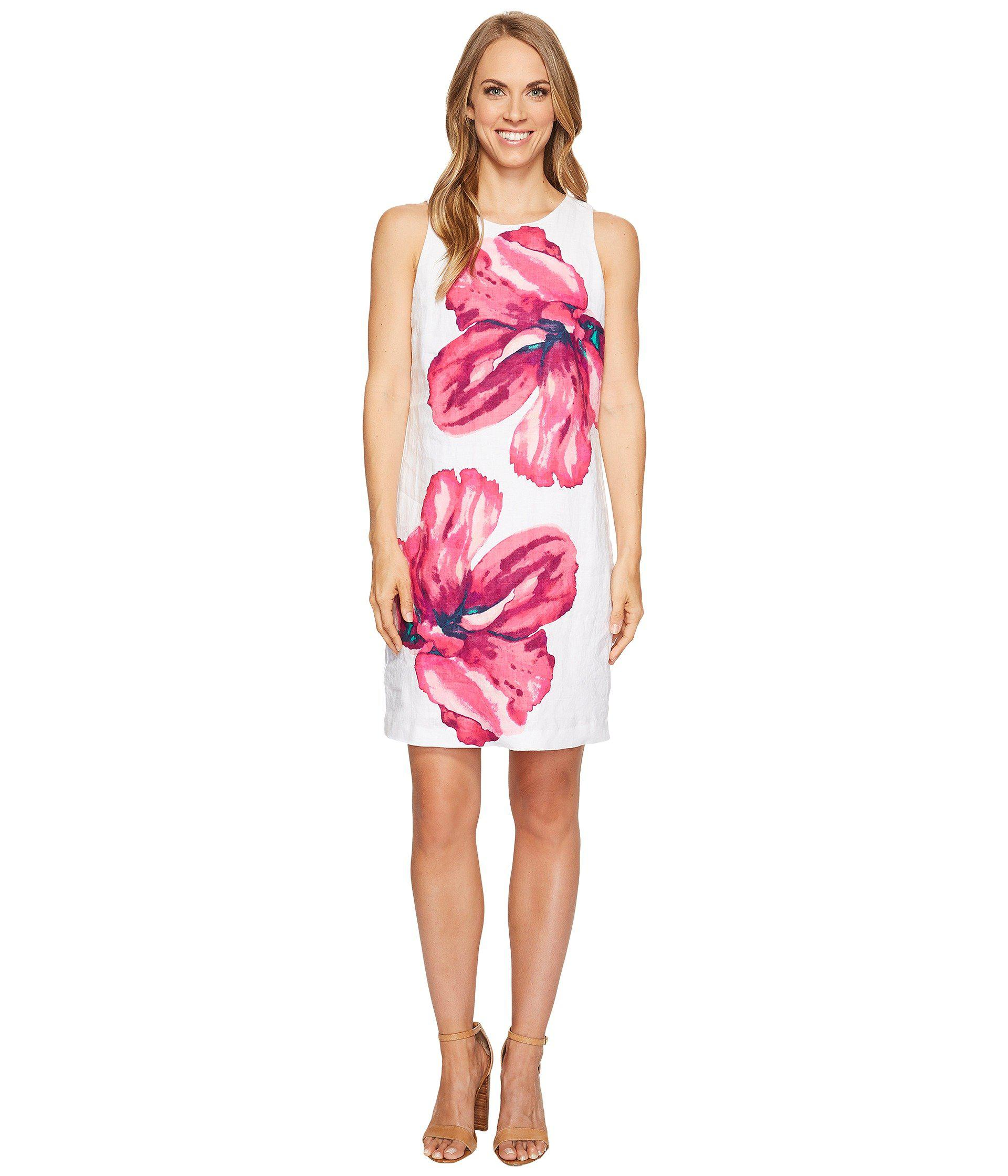 b7e4090205aa Lyst - Tommy Bahama Kavala Blossoms Short Dress in White - Save 58%