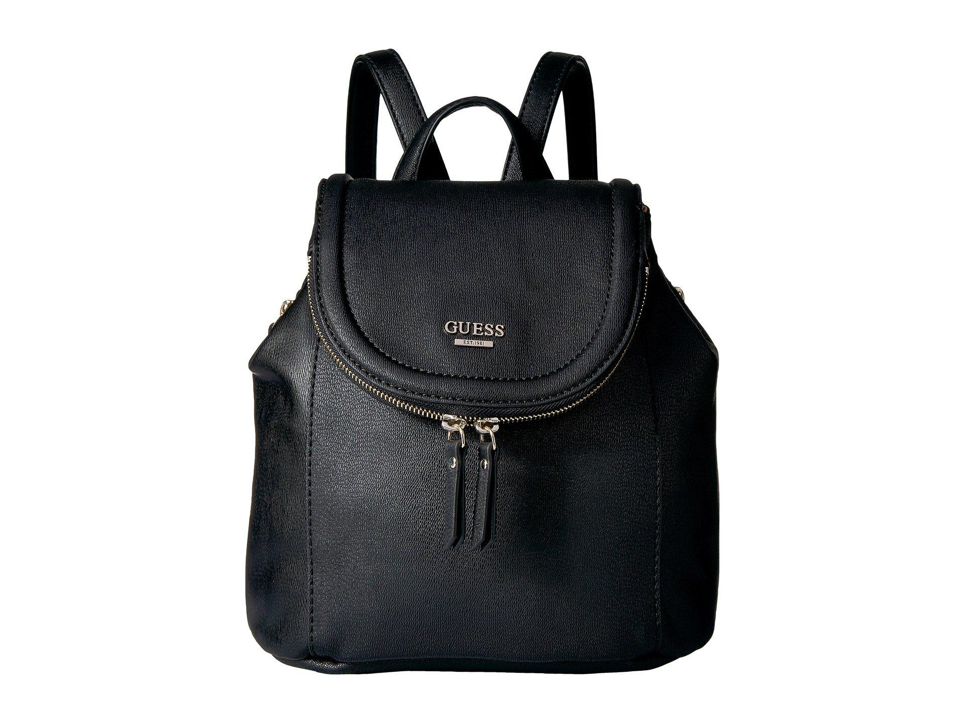bfbd6ef2d1 Lyst - Guess Terra Small Backpack in Black