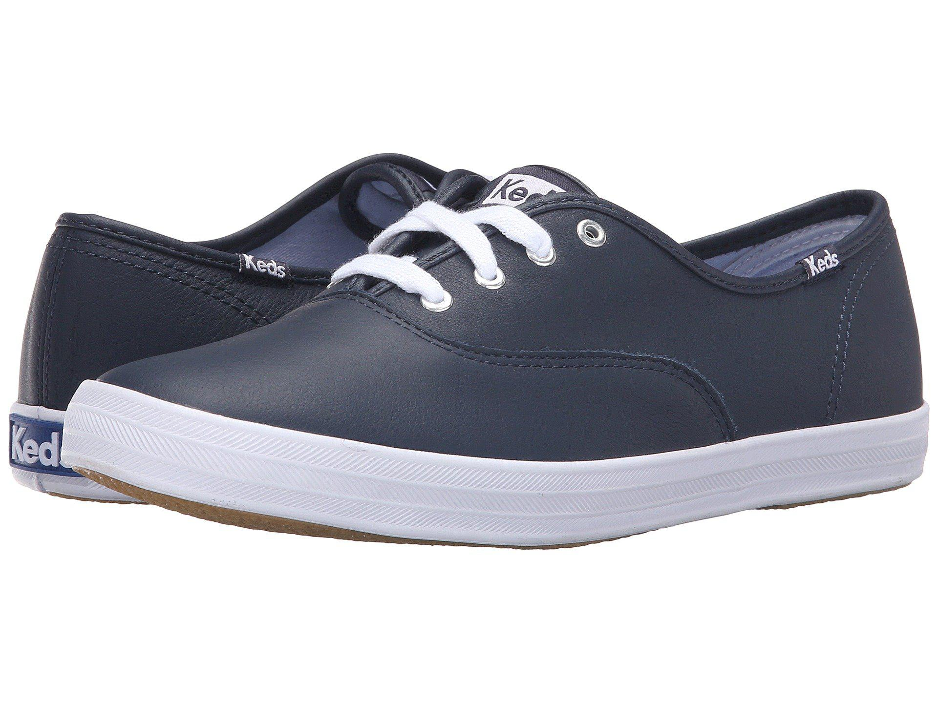 Keds - Blue Champion-leather Cvo - Lyst. View fullscreen