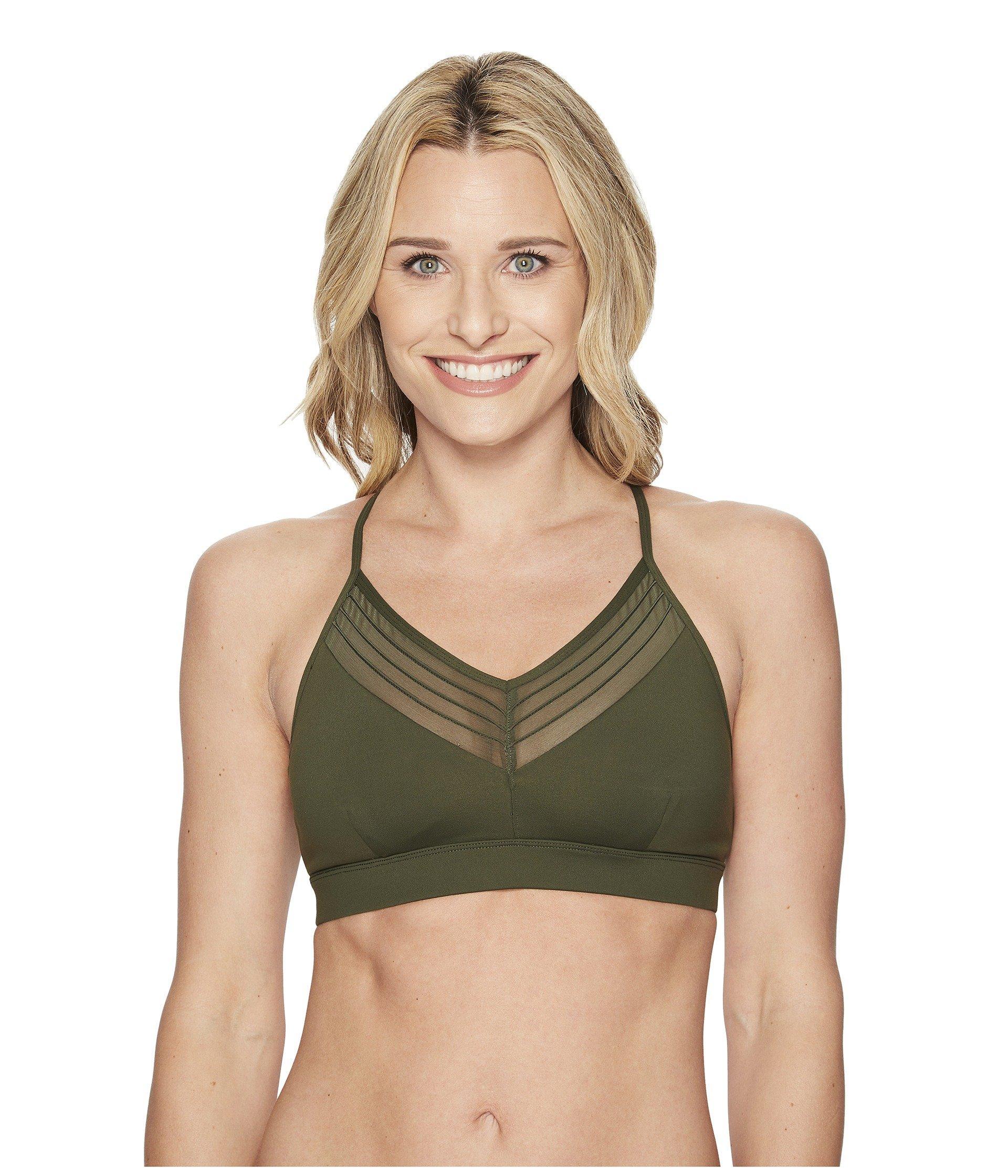 265b894d88 Lyst - Alo Yoga Ultimate Bra in Green