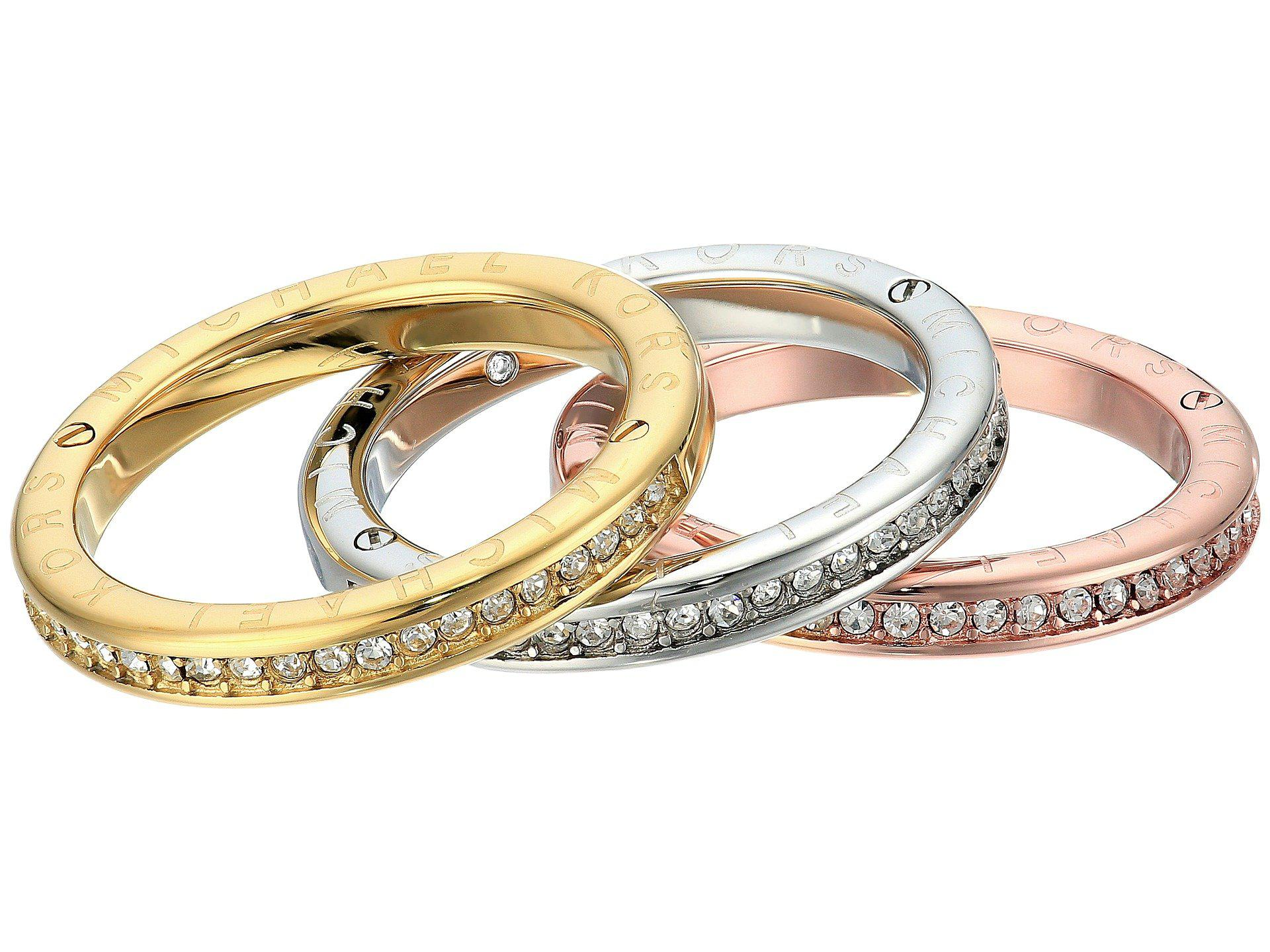 diamond ct stackable f of tri g color d rings band bands twt certified set gold in