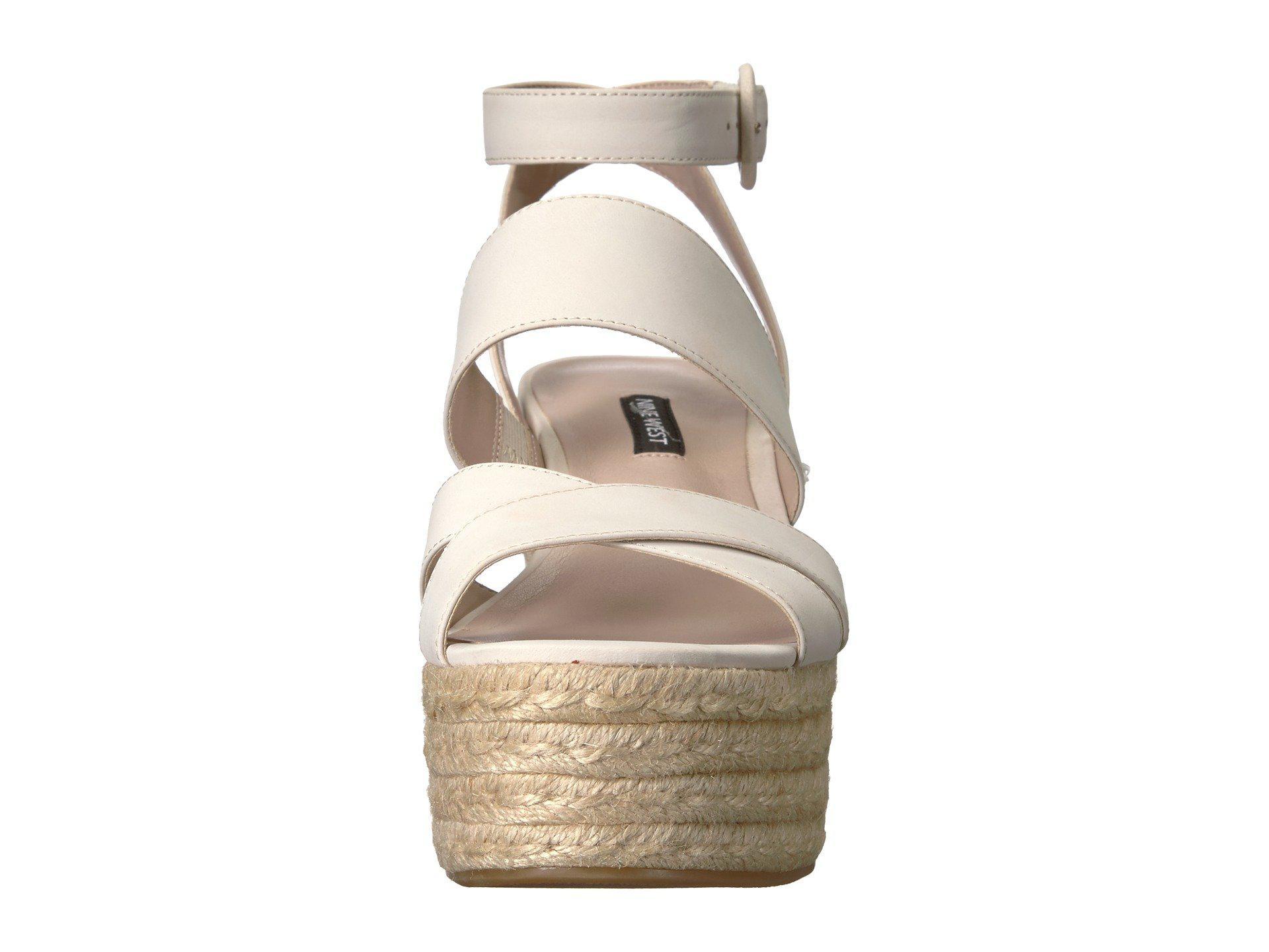d2e8ce593c9f Nine West - Multicolor Kushala Espadrille Wedge Sandal - Lyst. View  fullscreen
