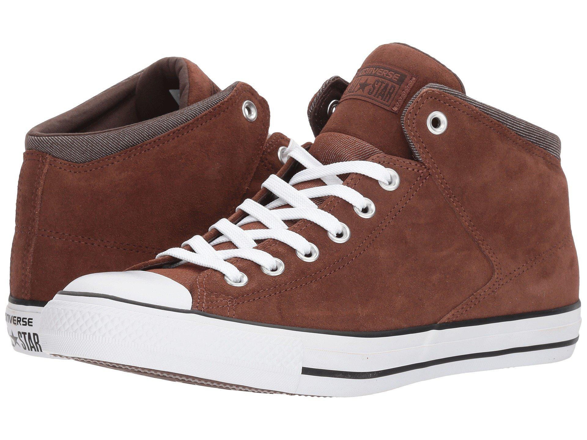 040b17c44e Lyst - Converse Chuck Taylor® All Star® High Street Thermal Suede Hi ...