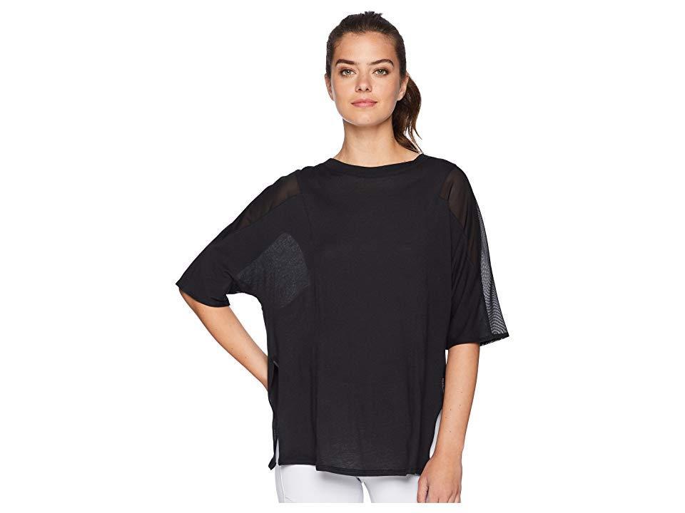 04b1ff872be Alo Yoga Shore-line Short Sleeve (black) T Shirt in Black - Save 24 ...