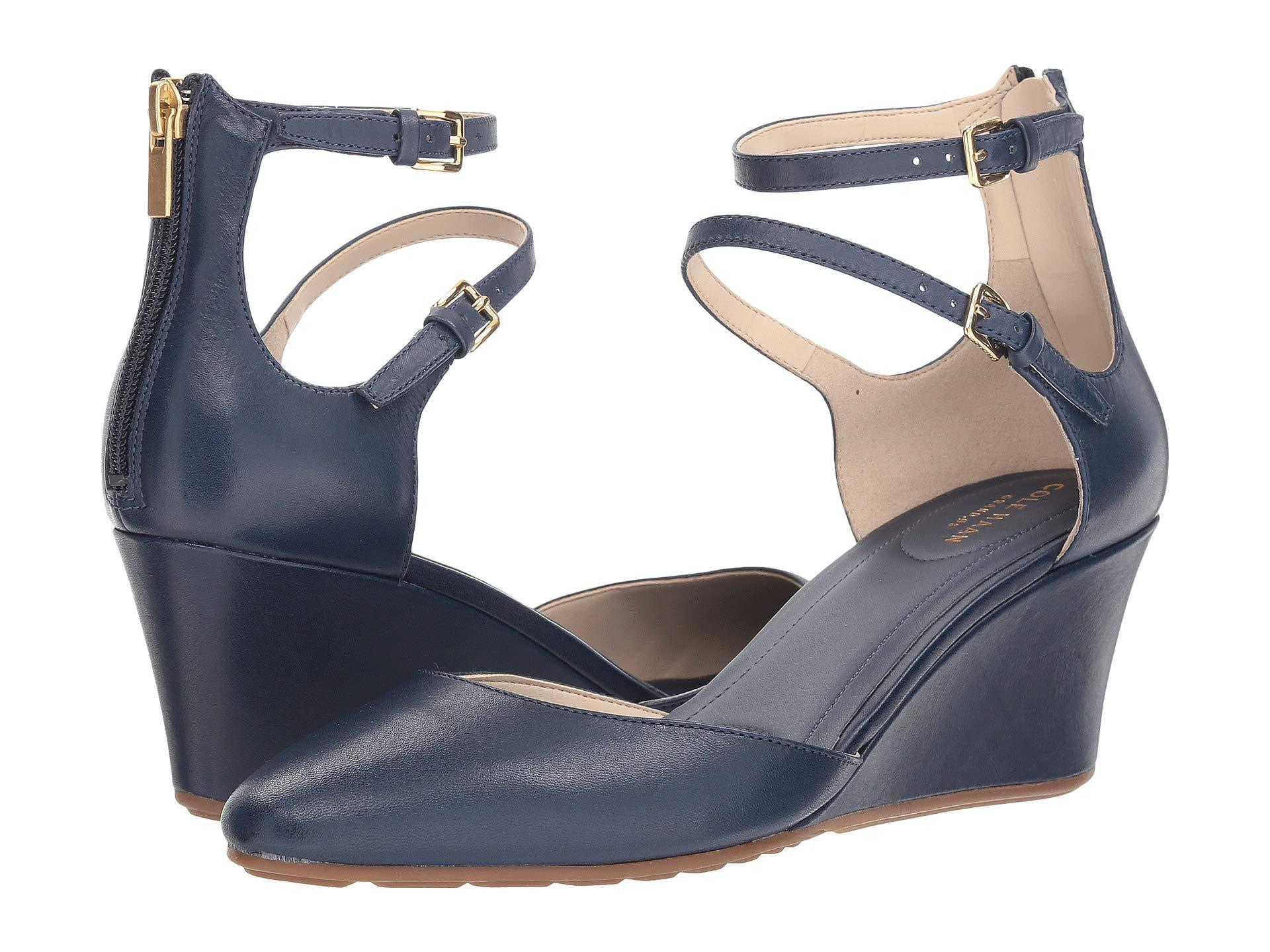 a2924220bbbf Lyst - Cole Haan Maddie Wedge in Blue