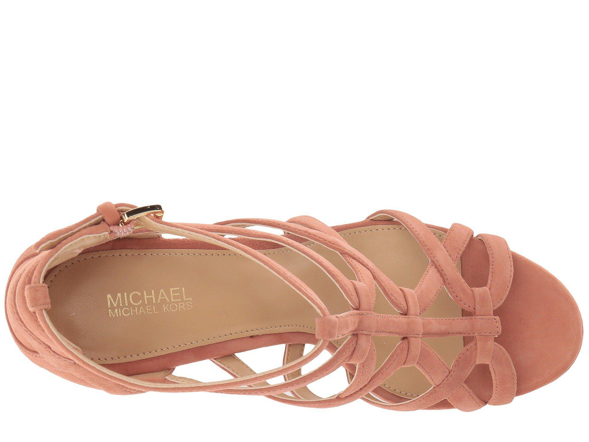 8d3988822d58 MICHAEL Michael Kors - Multicolor Sandra Platform - Lyst. View fullscreen