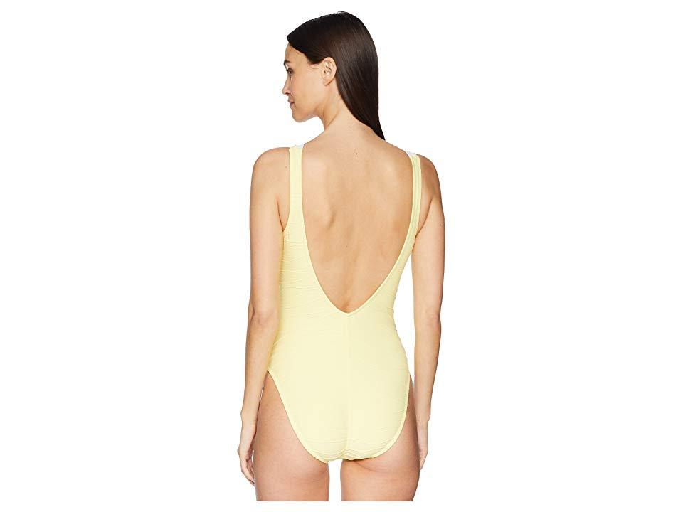 9aa4563ac1c Letarte Lace-up One-piece (primrose) Swimsuits One Piece - Save 18 ...