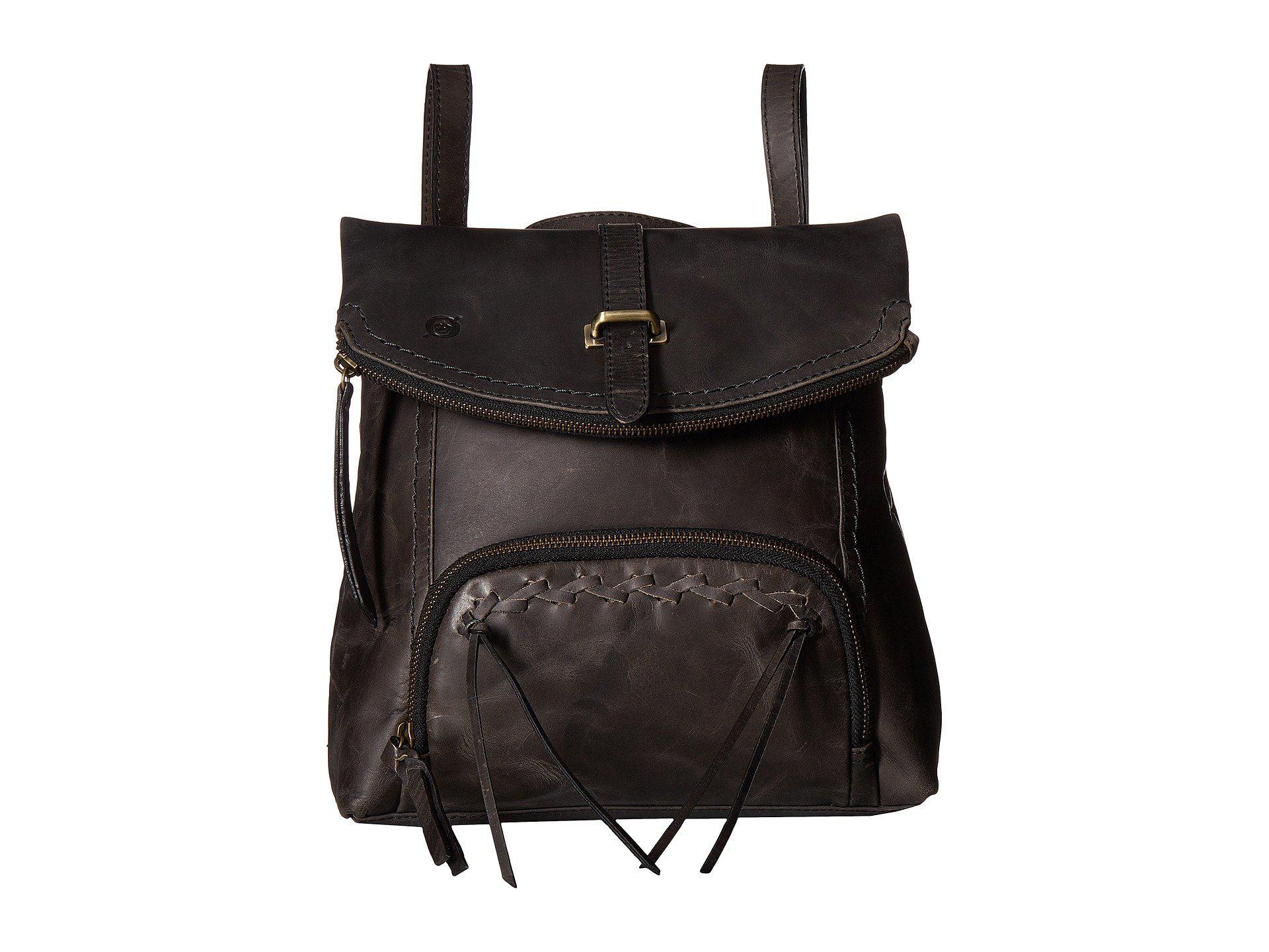 89b15e4aa6 Lyst - Born Archer Distressed Leather in Black