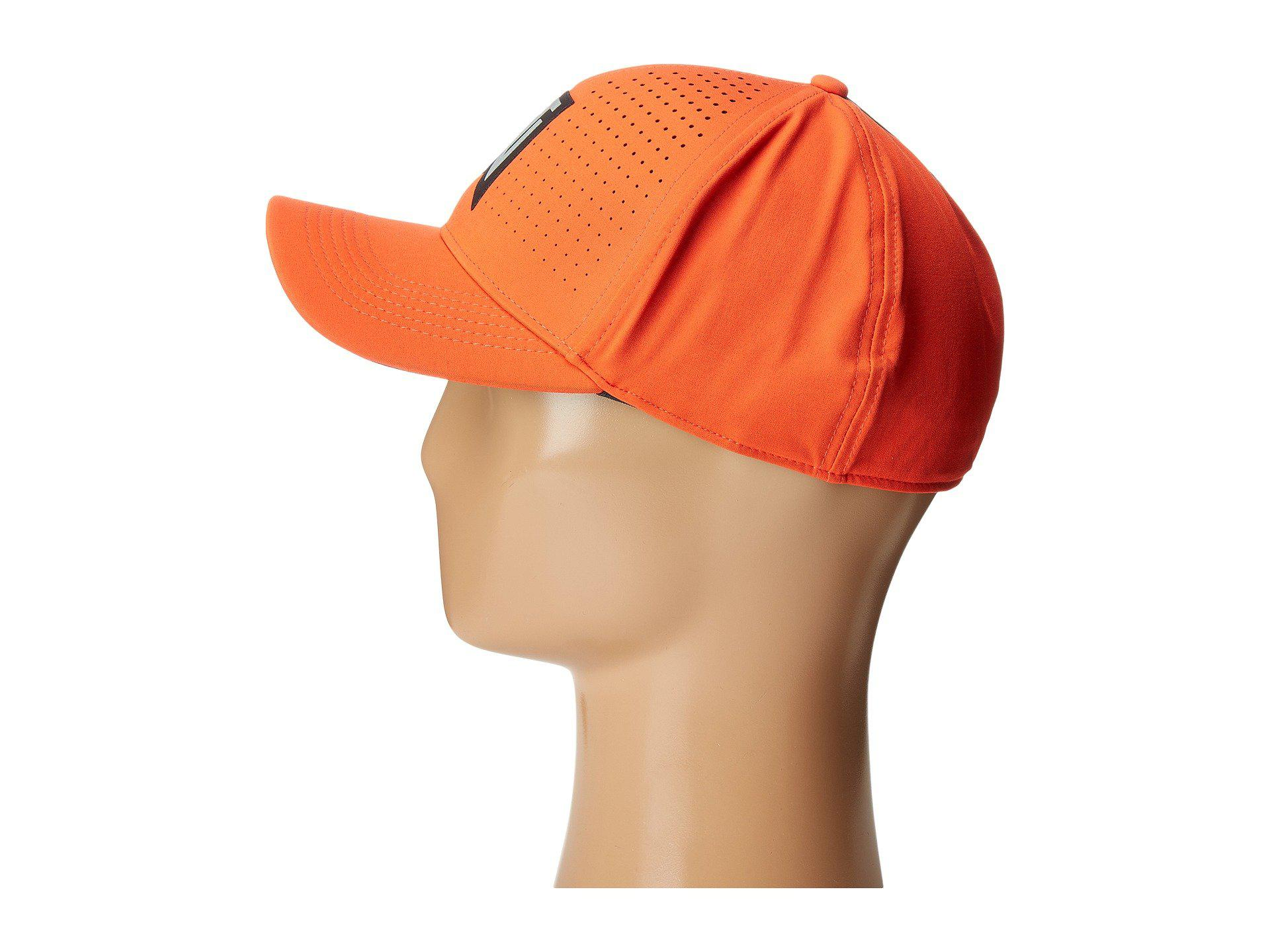1d00278c35a Lyst - Nike Tiger Woods Classic99 Statement Cap in Orange for Men