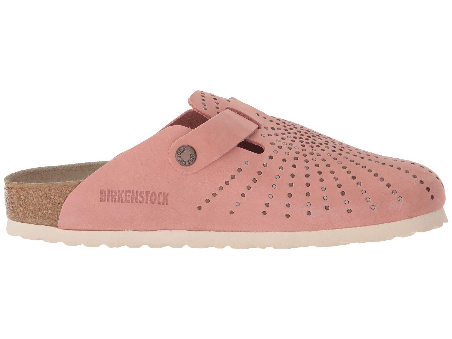 ae3a5556ba752b Lyst - Birkenstock Boston in Pink - Save 14%