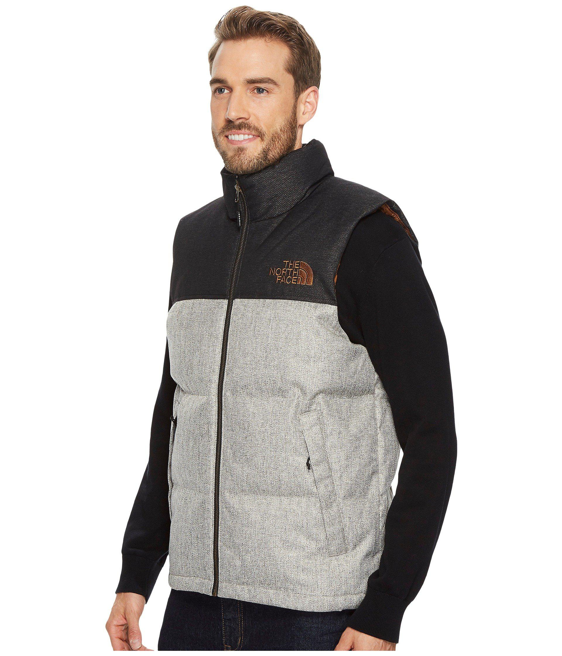 c3dc003c7b free shipping north face quilted vest herringbone a237b 3dc33