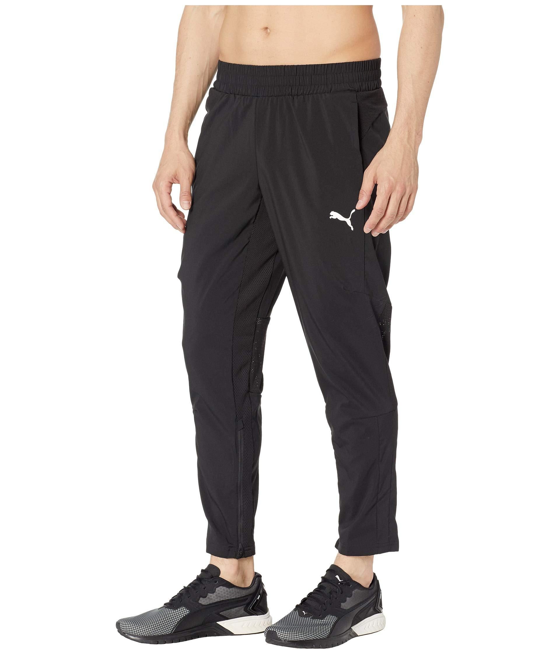 30c1e0bf82d3 Lyst - PUMA Energy Woven Pants in Black for Men