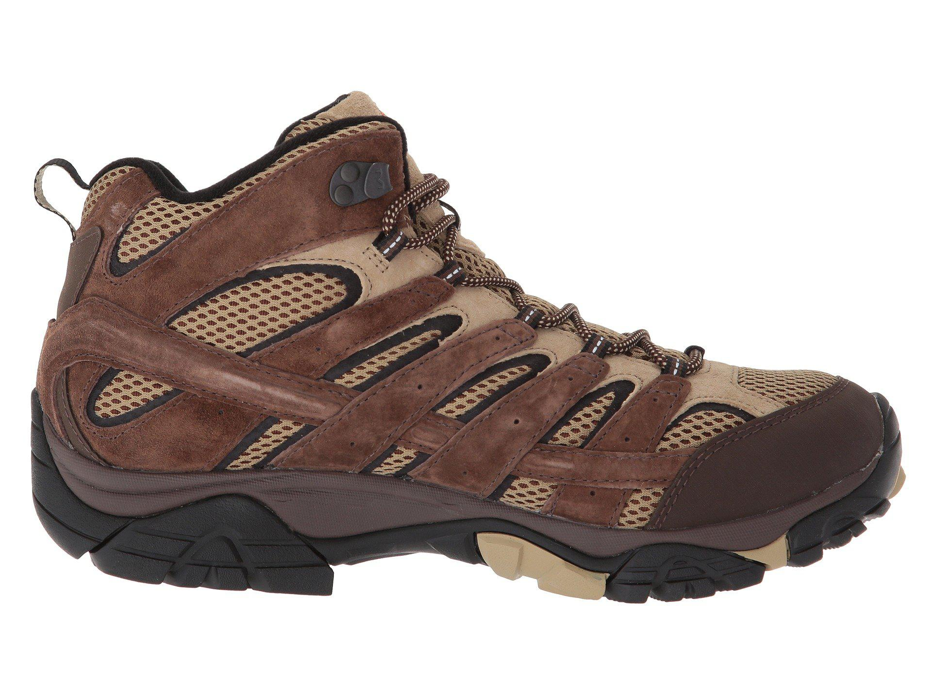 merrell moab 2 smooth mid gtx boots use