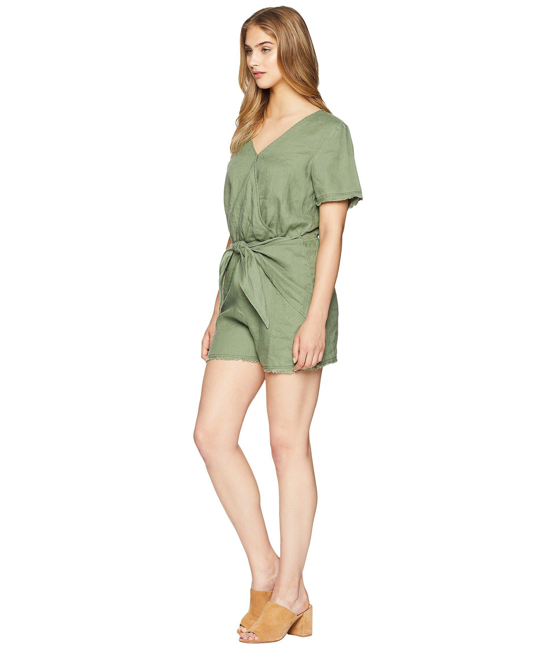 3d595f1d1ca6 Lyst - Sanctuary Date Palm Romper in Green - Save 42%