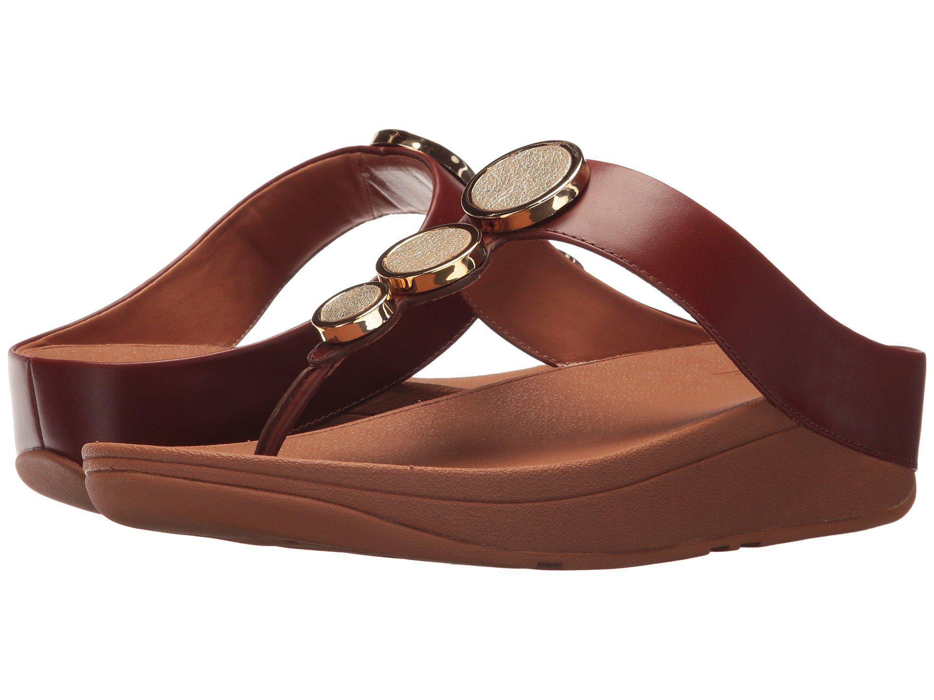 97e682ca5da Lyst - Fitflop Halo Toe Thong Sandals in Brown