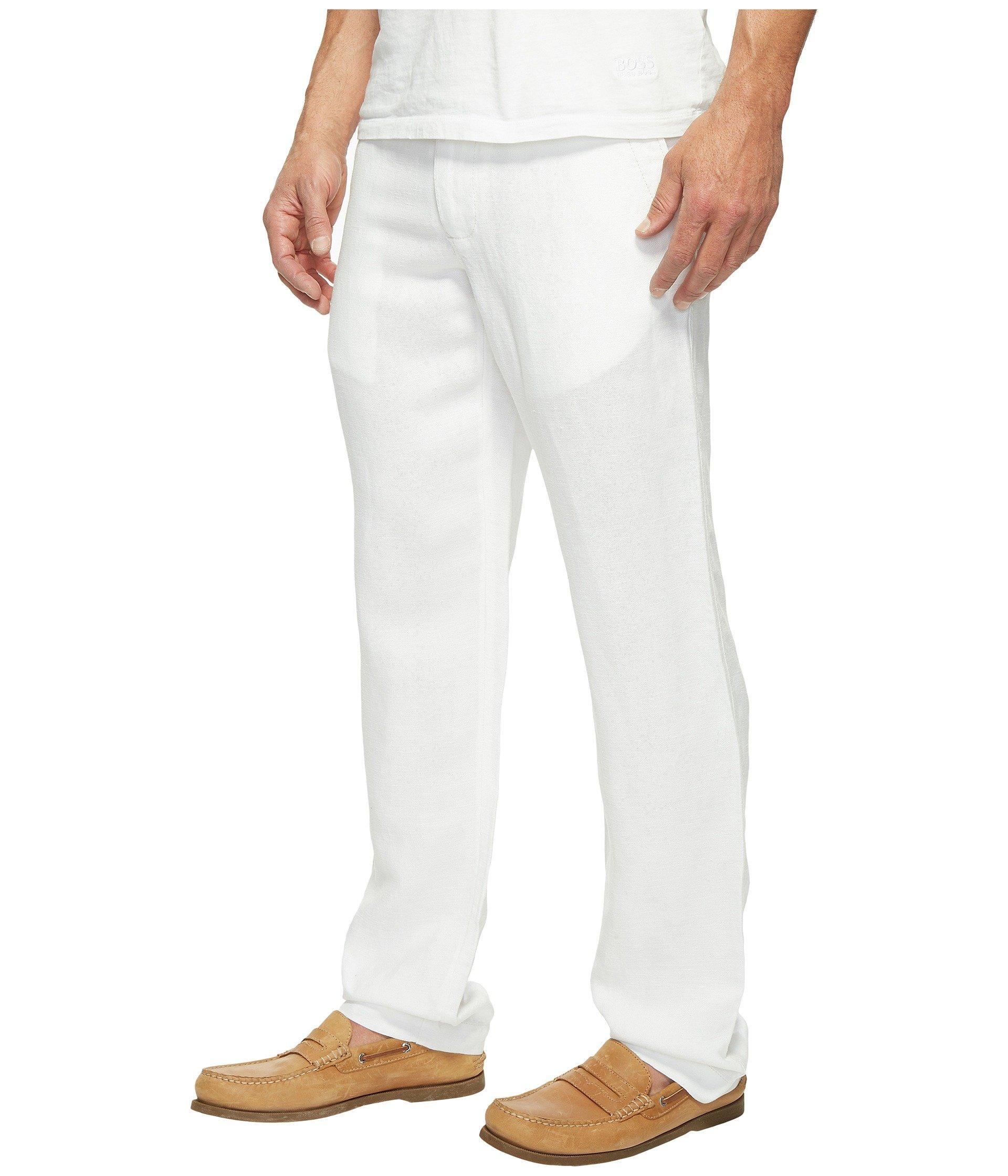 d7f5de1e2b Lyst - Tommy Bahama Linen The Dream Pants in White for Men - Save 34%