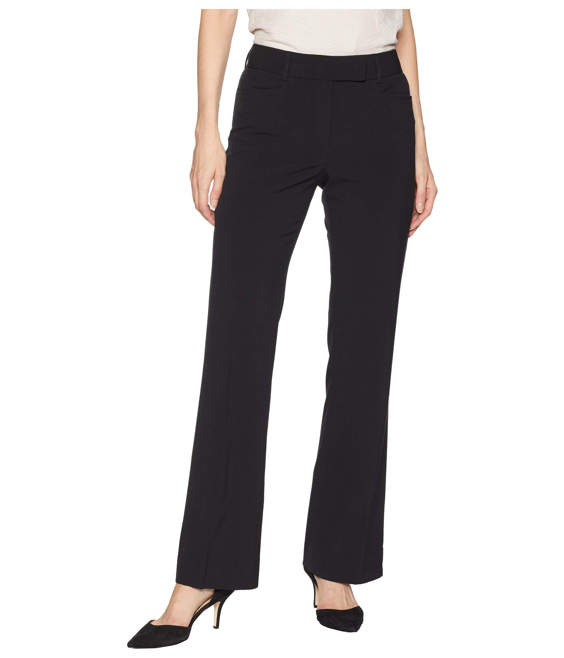 60e9e40b0f219 Lyst - Tahari Bi-stretch Trouser Pants in Black