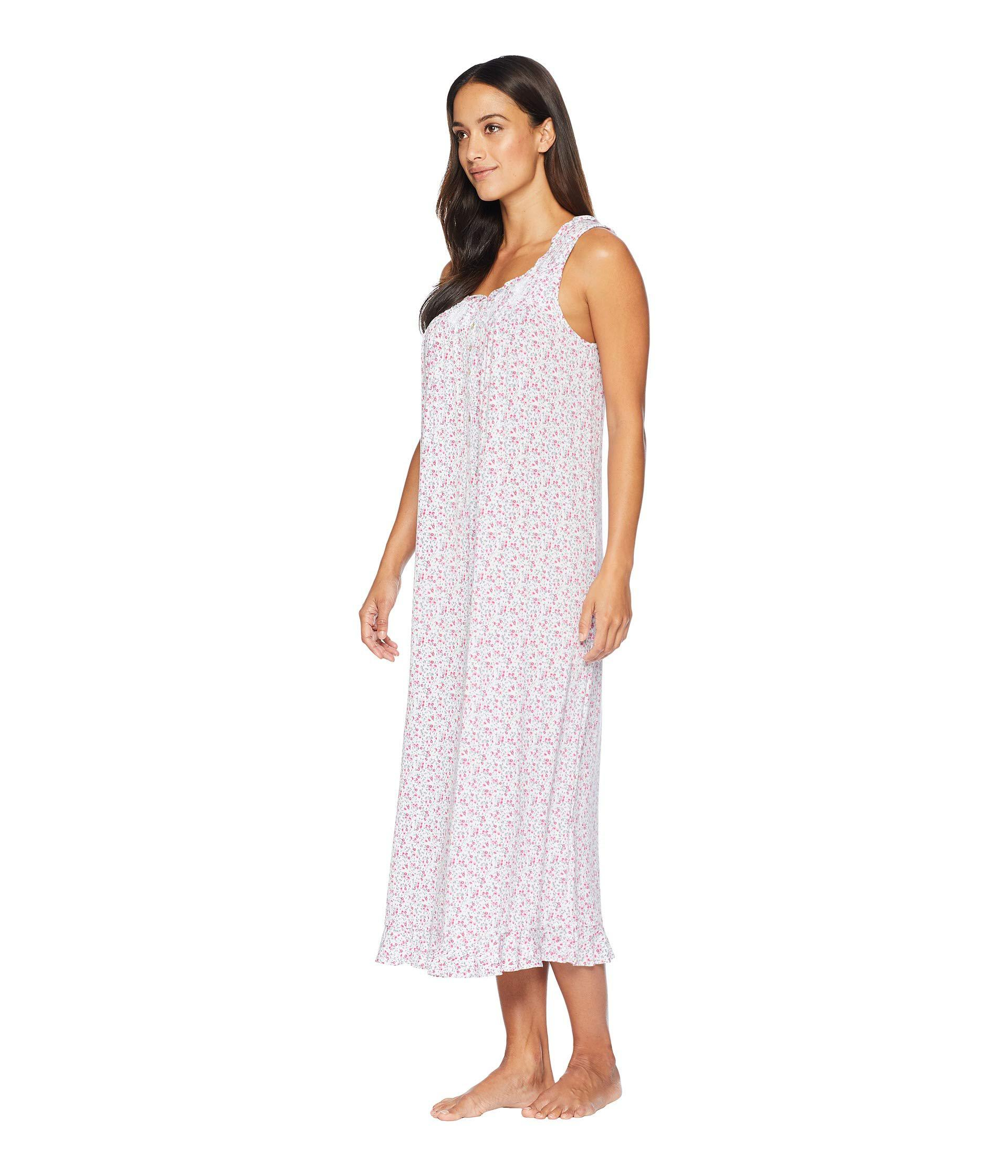 Eileen West - Purple Petite Cotton Modal Ballet Nightgown - Lyst. View  fullscreen 77c475bb2
