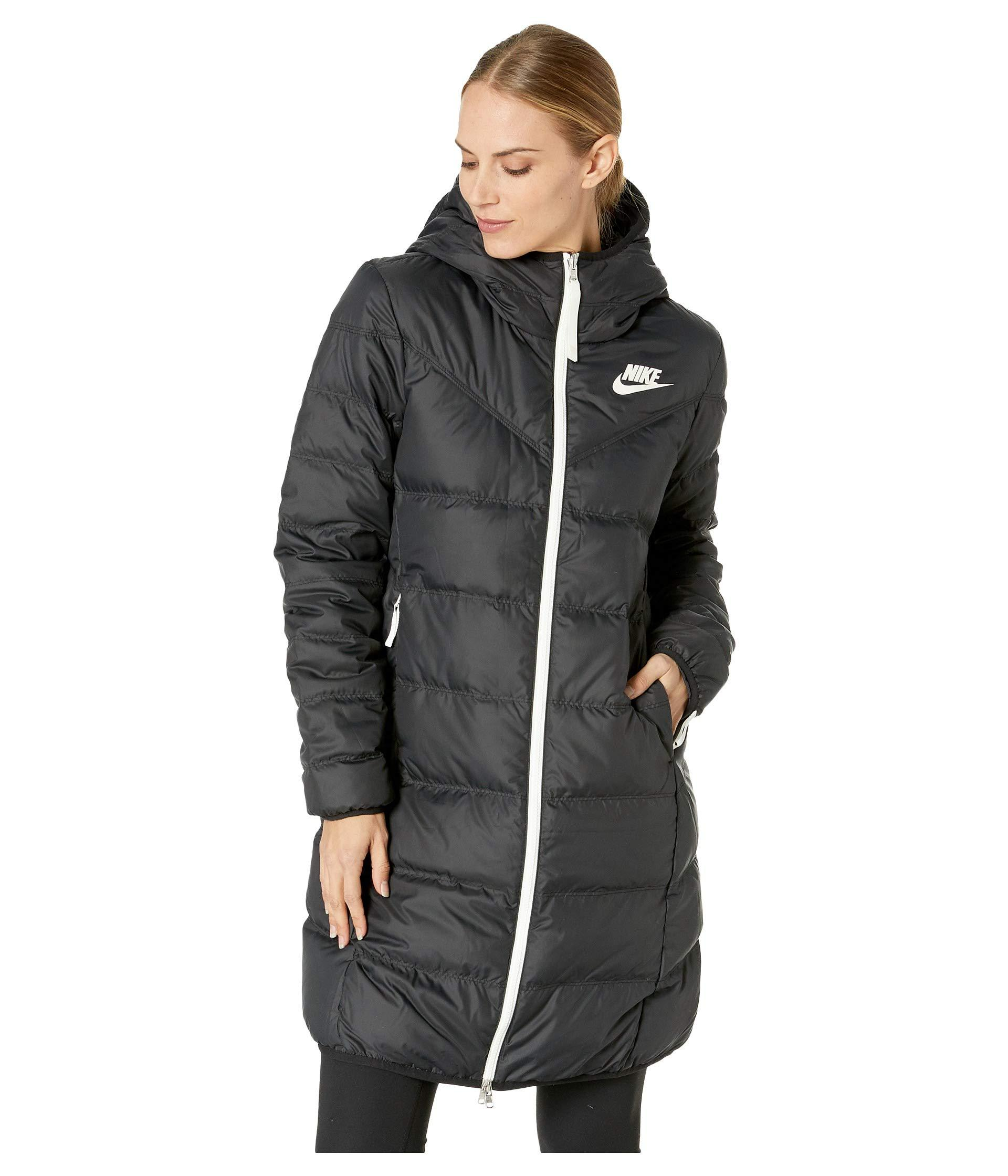 Nike - Black Sportswear Windrunner Down Fill Parka Reversible - Lyst. View  fullscreen ce824c7e7