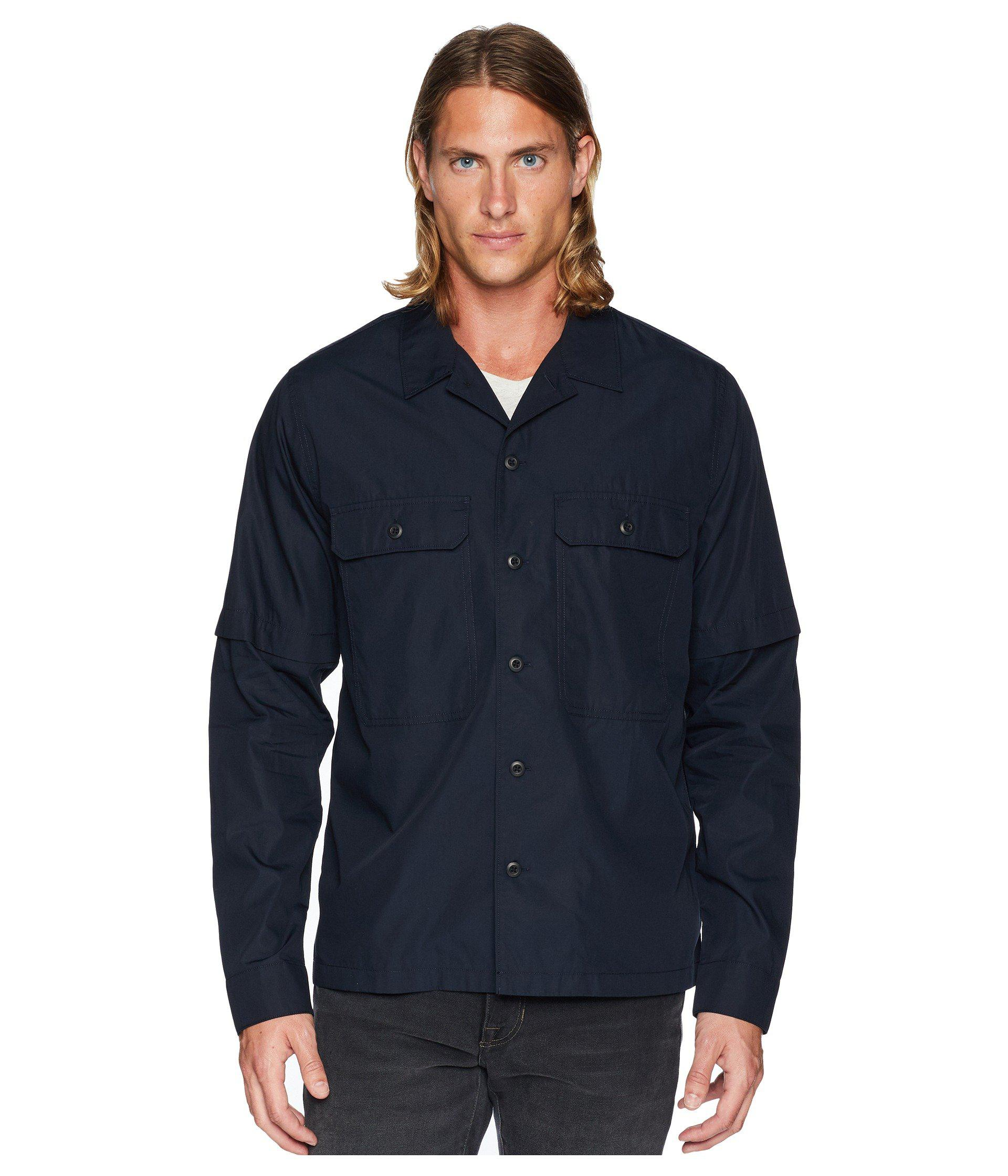 370c06246e3 Lyst - Vince Shirt Jacket in Blue for Men - Save 33%