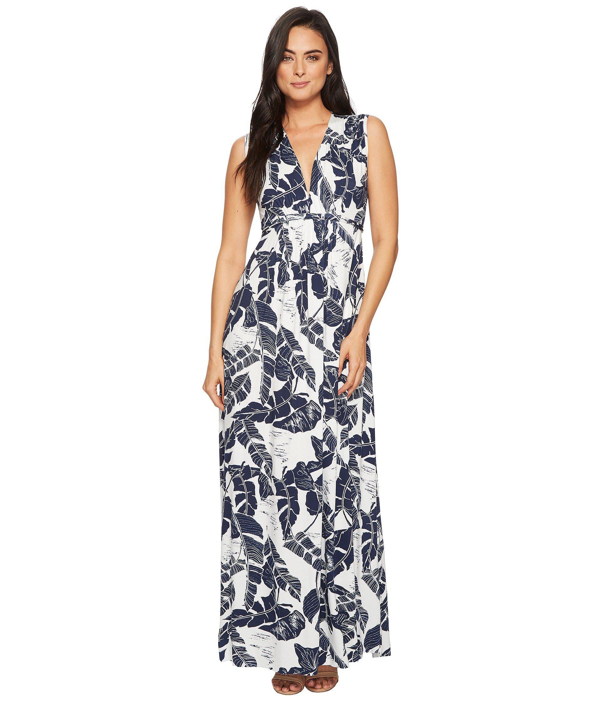 ce9a3b088d5 Lyst - Rachel Pally Plus Size Morning Dress White Label in Blue