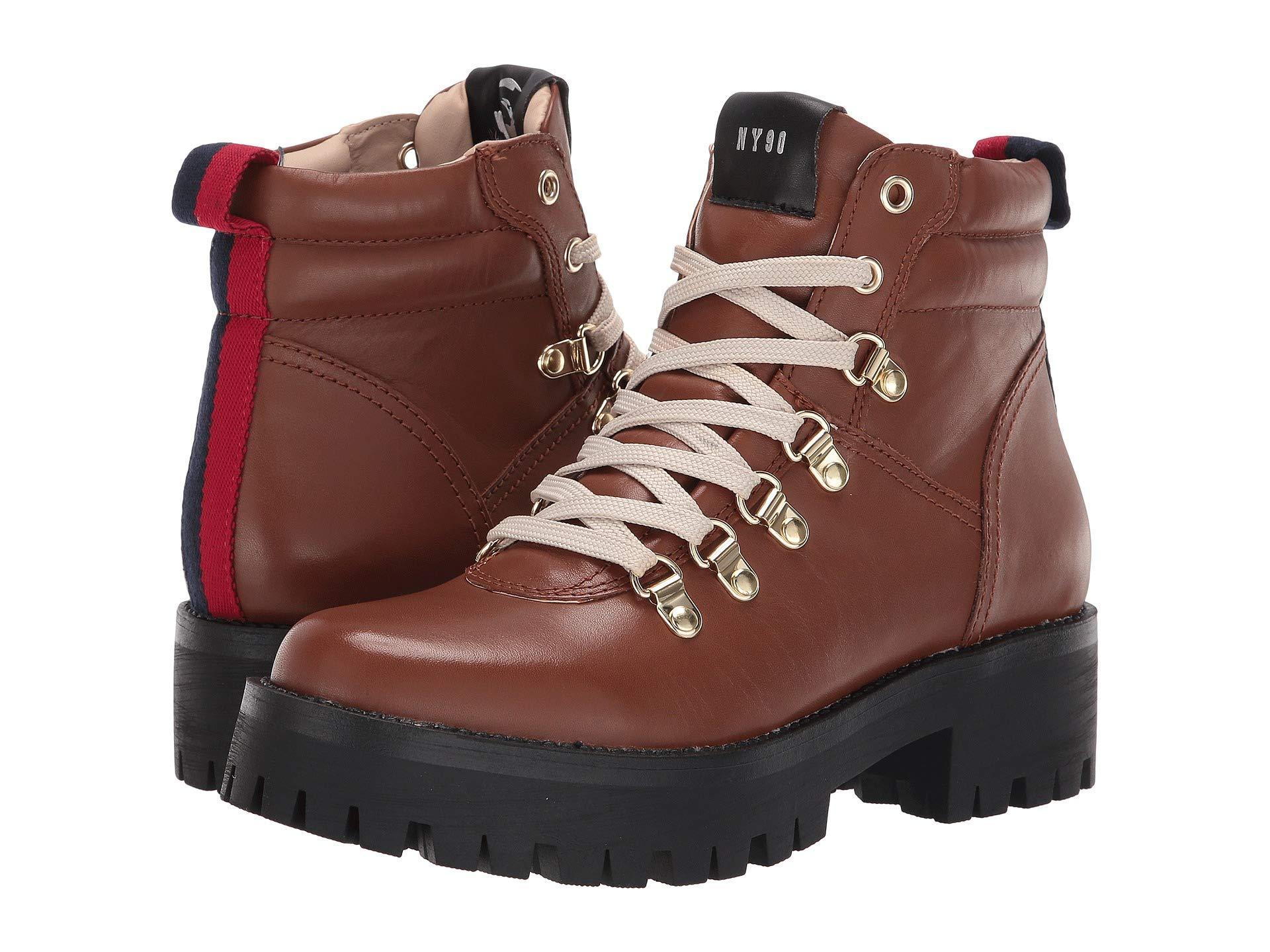 bd7cb7487f7 Lyst - Steve Madden Buzzer Hiker Boot in Brown - Save 36%