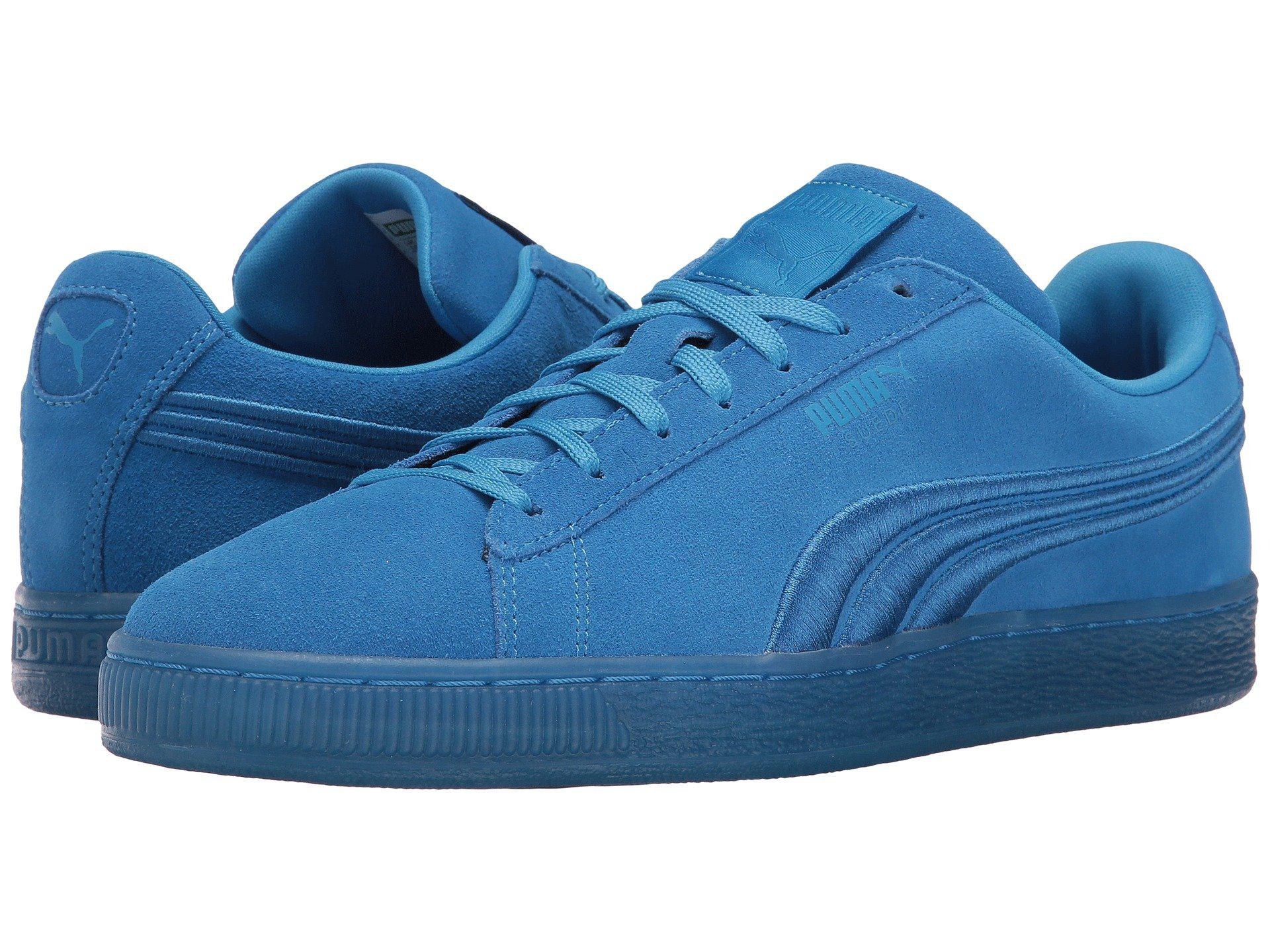 d1edadd63e74 Lyst - PUMA Suede Classic Badged Ice in Blue for Men - Save 32%