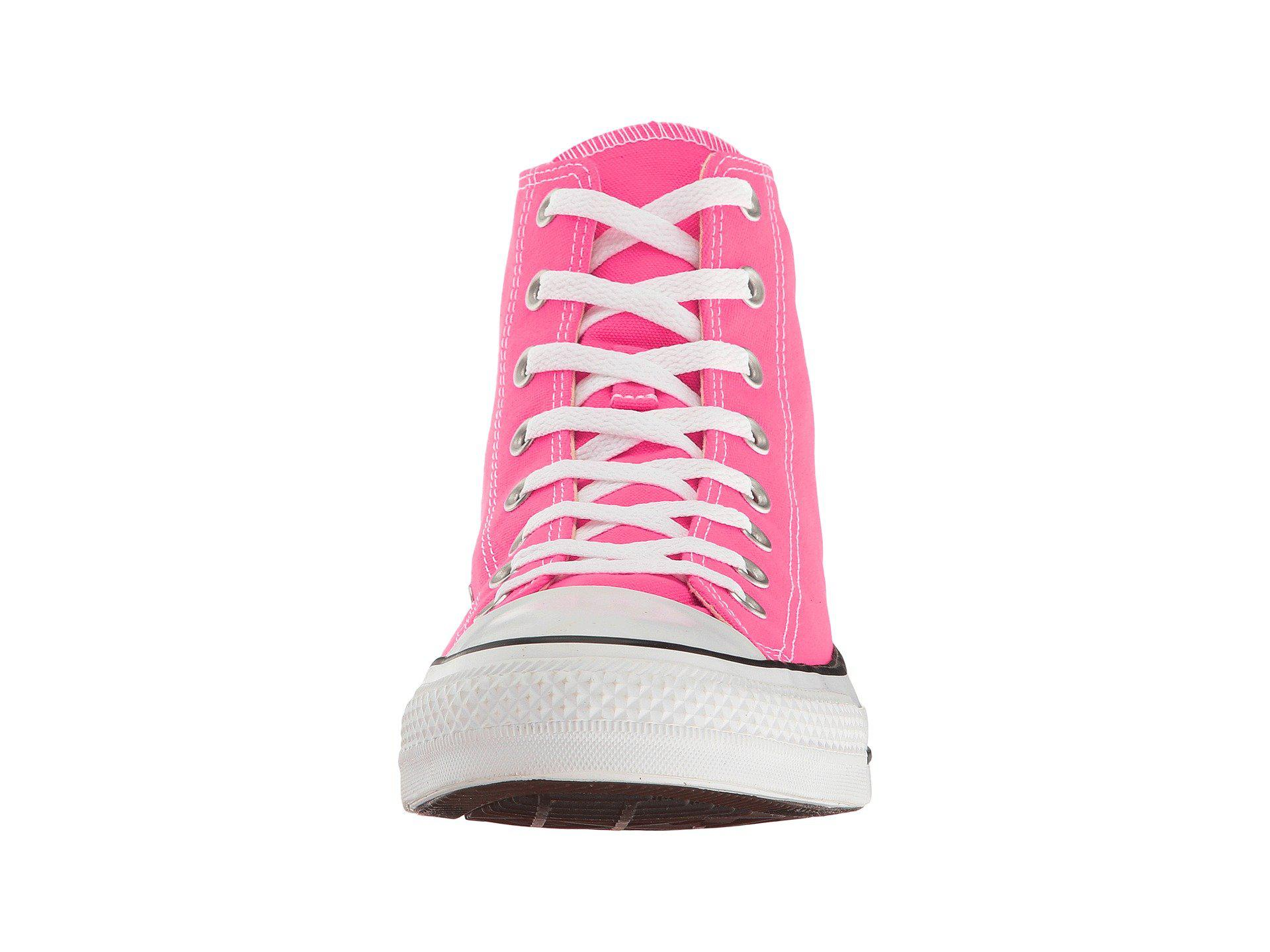d744d89cbc3 Lyst - Converse Chuck Taylor® All Star® Seasonal Color Hi in Pink