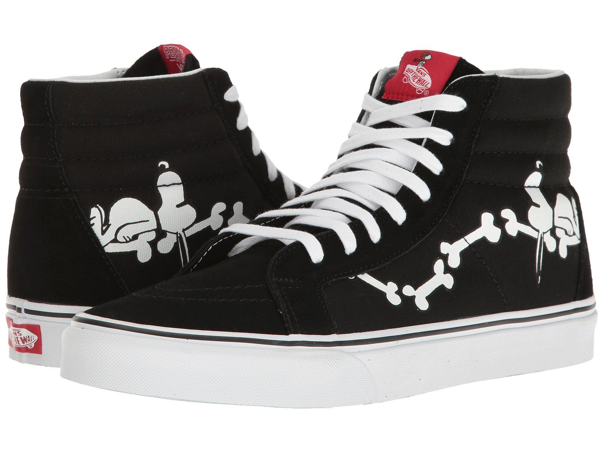 849bb85df8 Lyst - Vans Sk8-hi Reissue X Peanuts Collaboration in Black