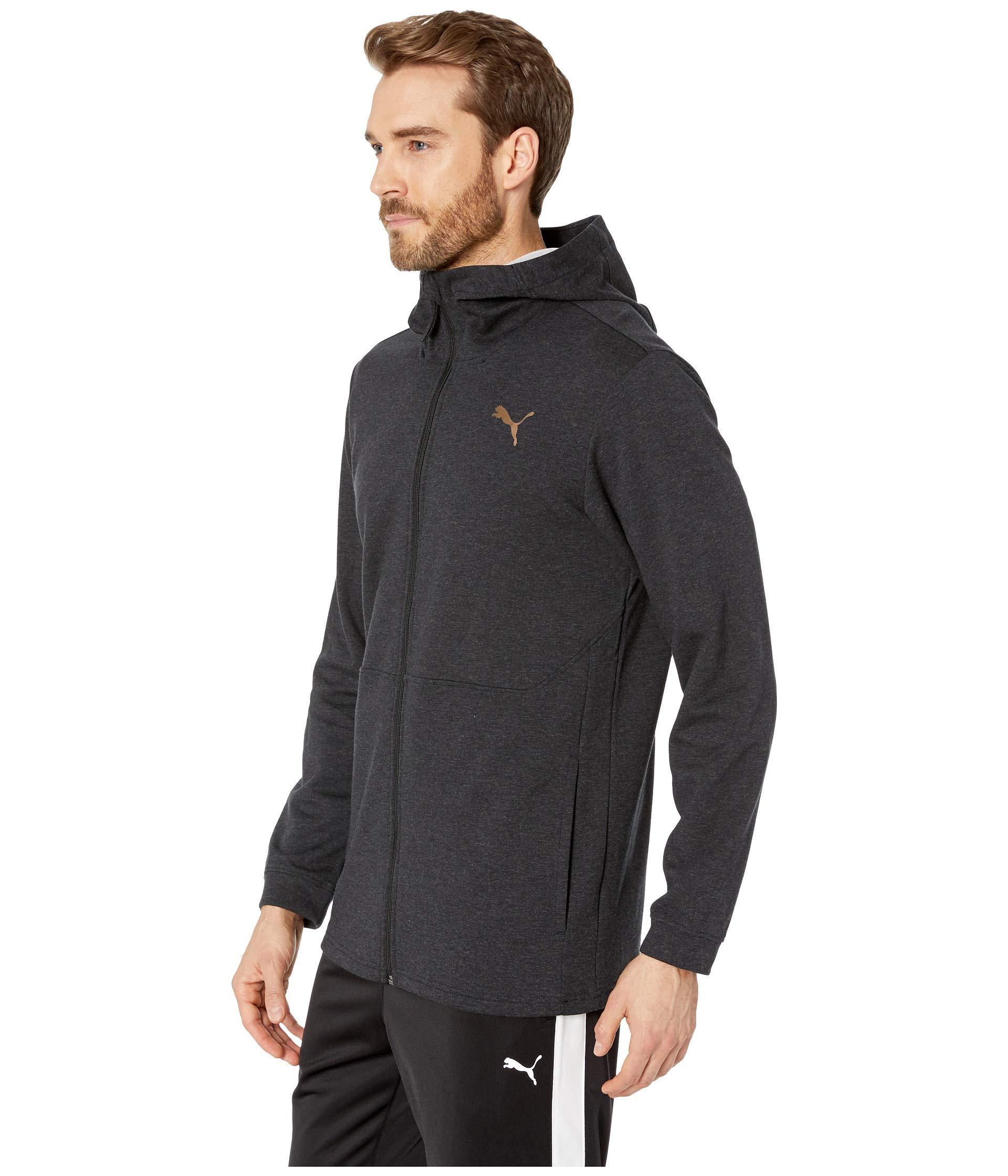 2808edef8a Lyst - PUMA Energy Desert Full Zip Jacket in Black for Men